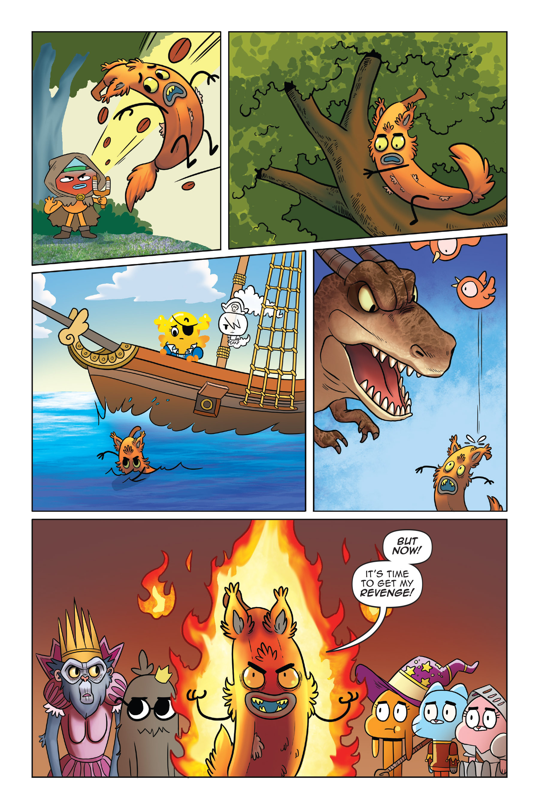 Read online The Amazing World of Gumball: Fairy Tale Trouble comic -  Issue # Full - 116