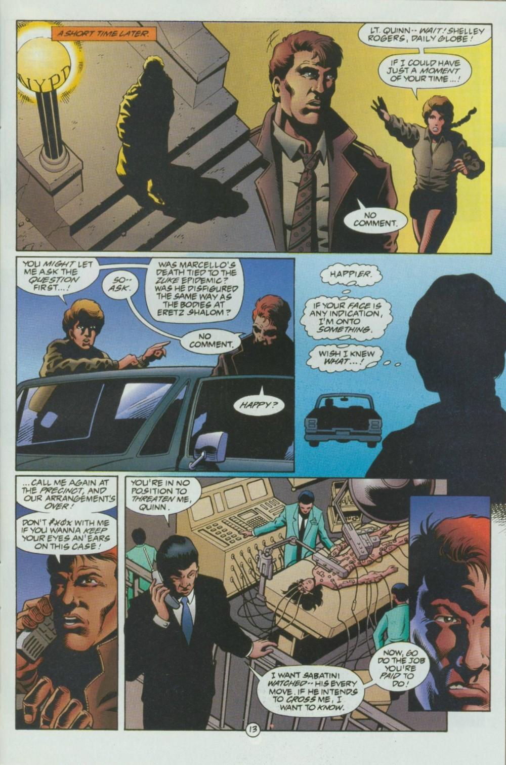 Read online Sludge comic -  Issue #8 - 14