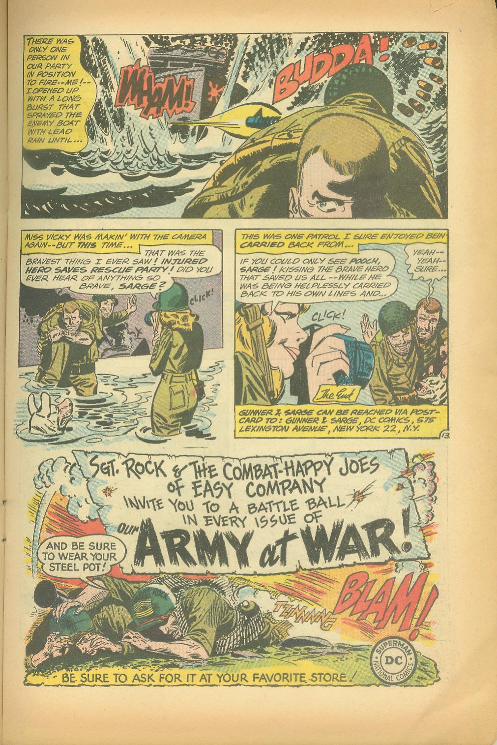 Our Fighting Forces (1954) issue 65 - Page 15