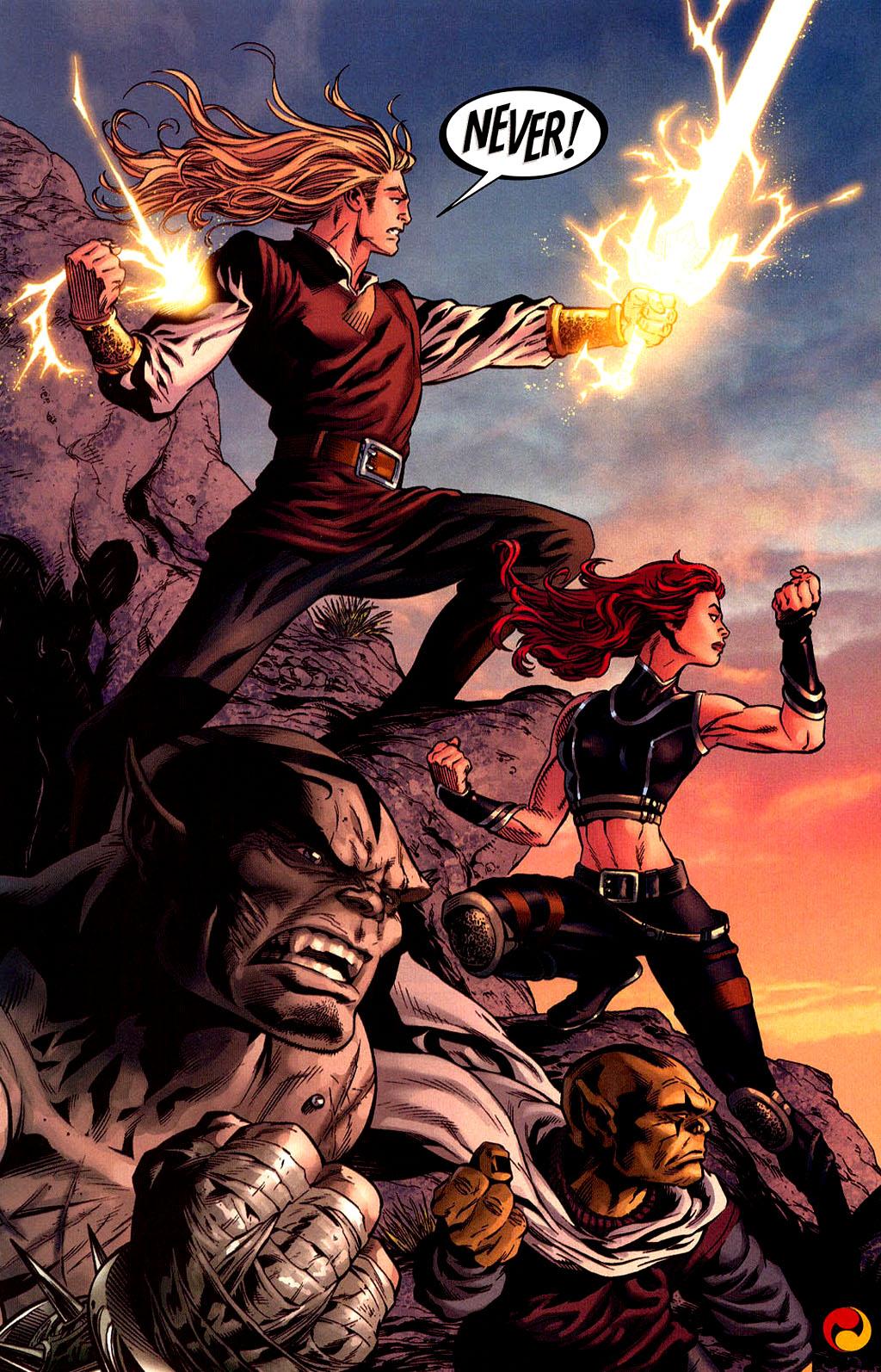 Read online Scion comic -  Issue #40 - 19