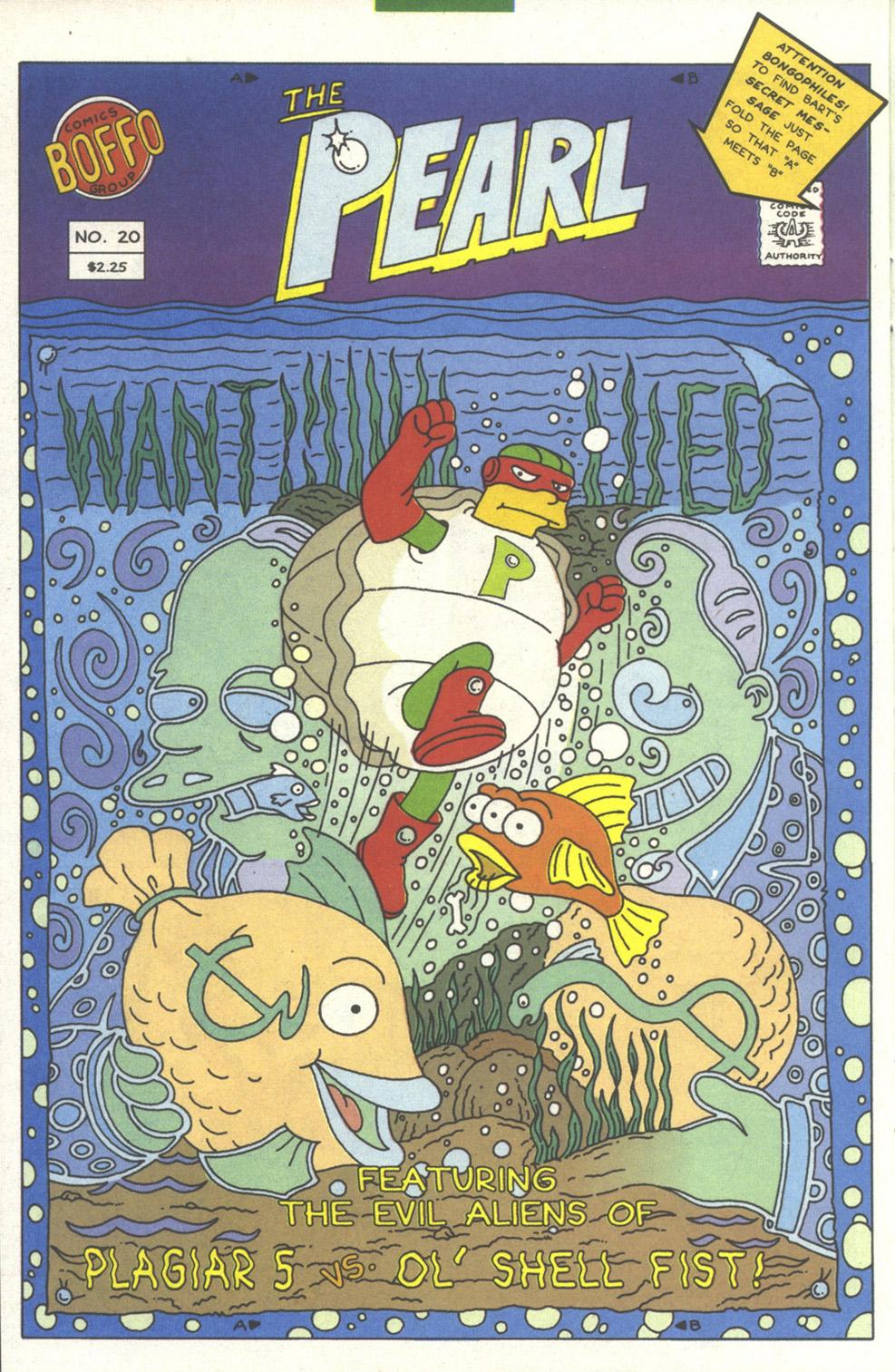 Read online Simpsons Comics comic -  Issue #13 - 21