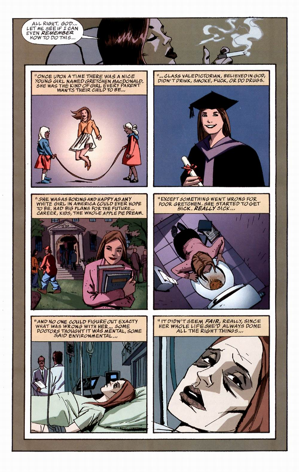 Read online Sleeper comic -  Issue #3 - 17