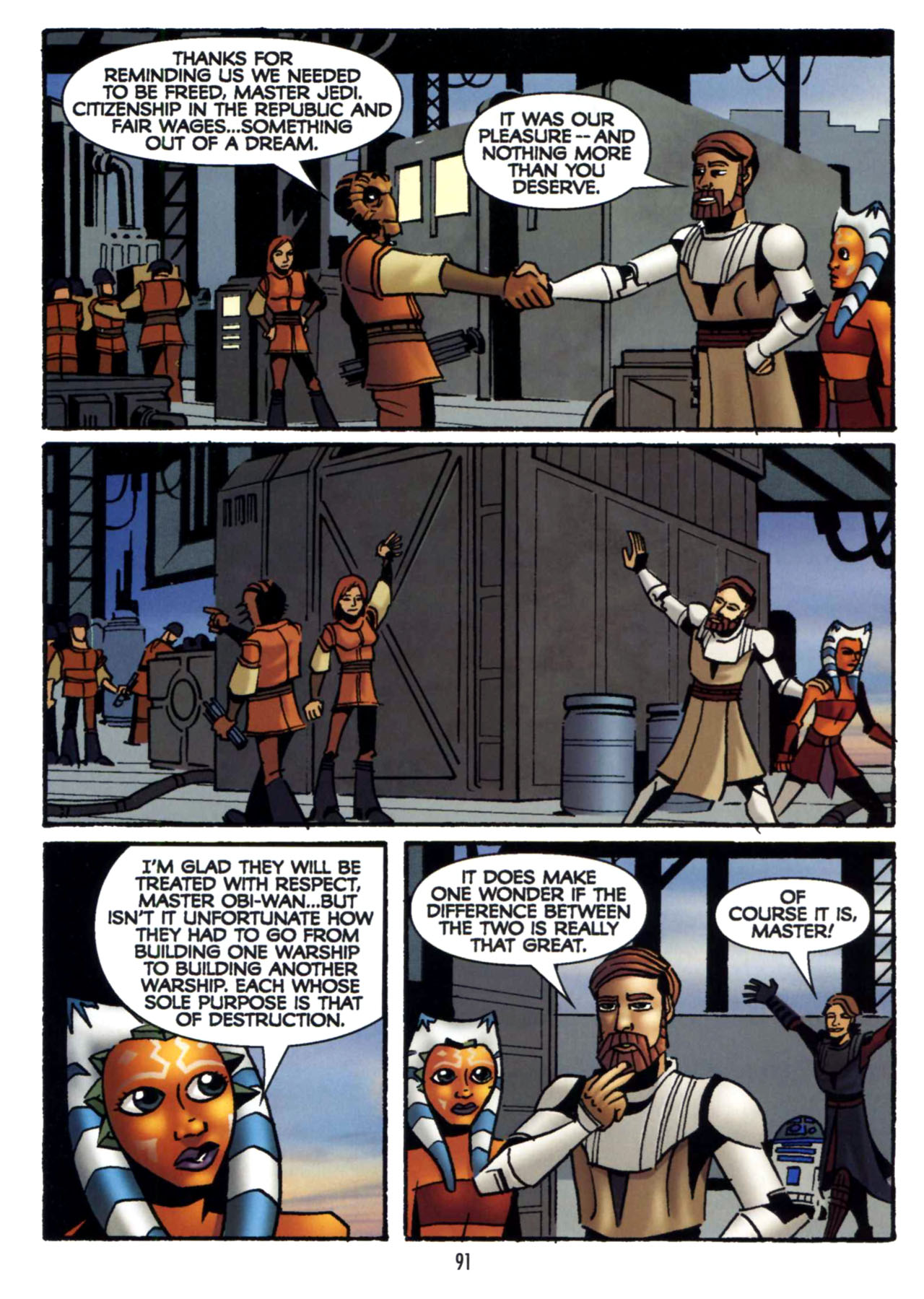 Read online Star Wars: The Clone Wars - Shipyards of Doom comic -  Issue # Full - 89