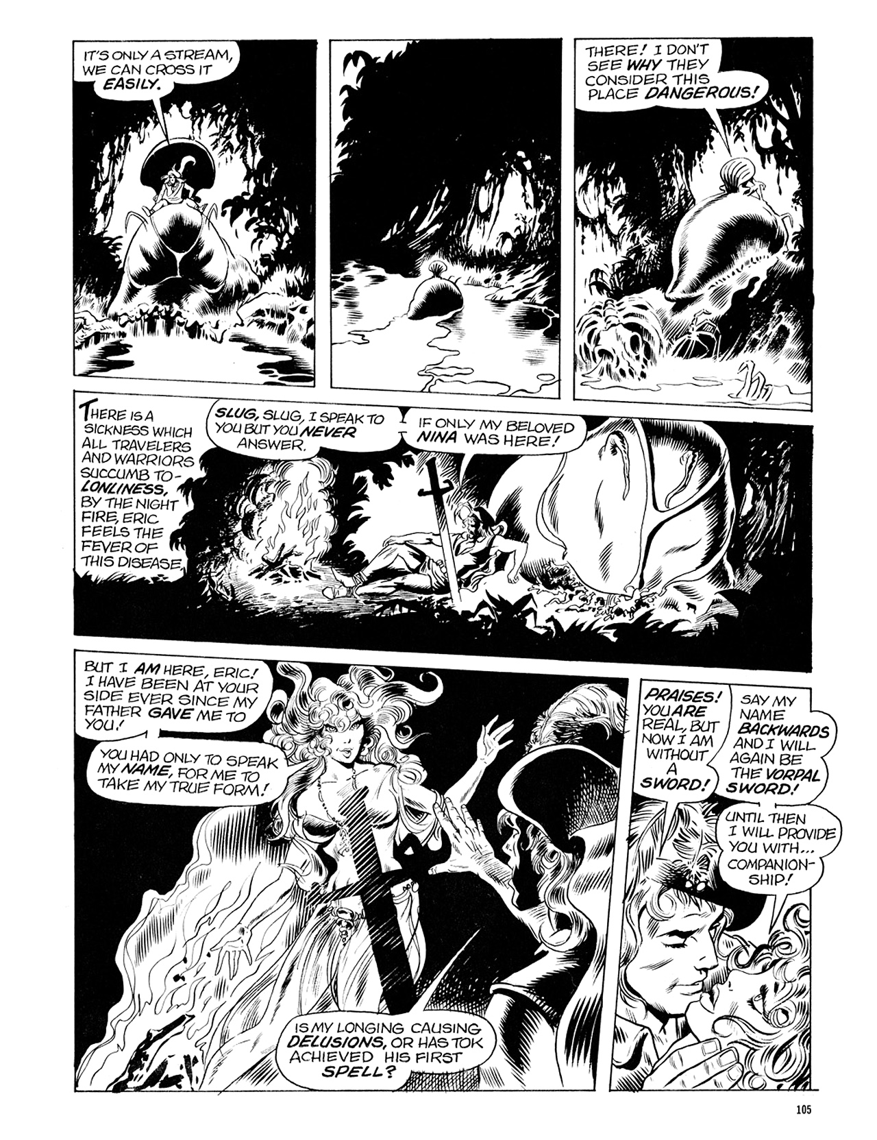 Read online Eerie Archives comic -  Issue # TPB 6 - 105