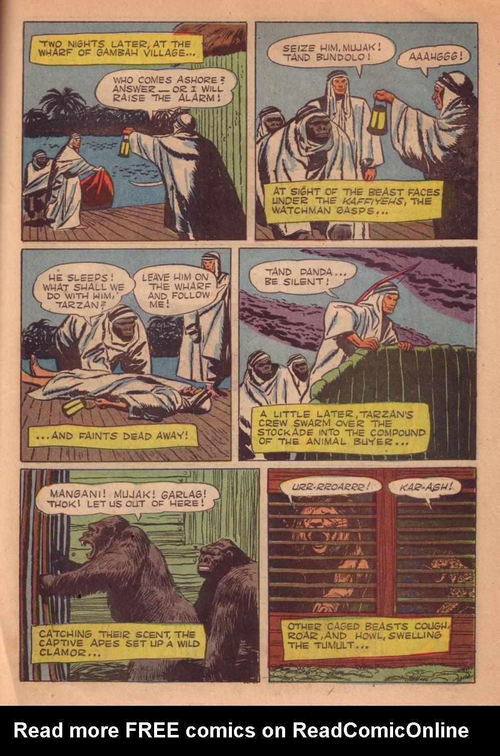 Tarzan (1948) issue 55 - Page 39