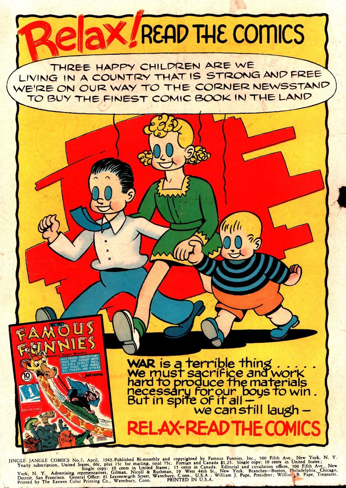 Jingle Jangle Comics issue 2 - Page 2