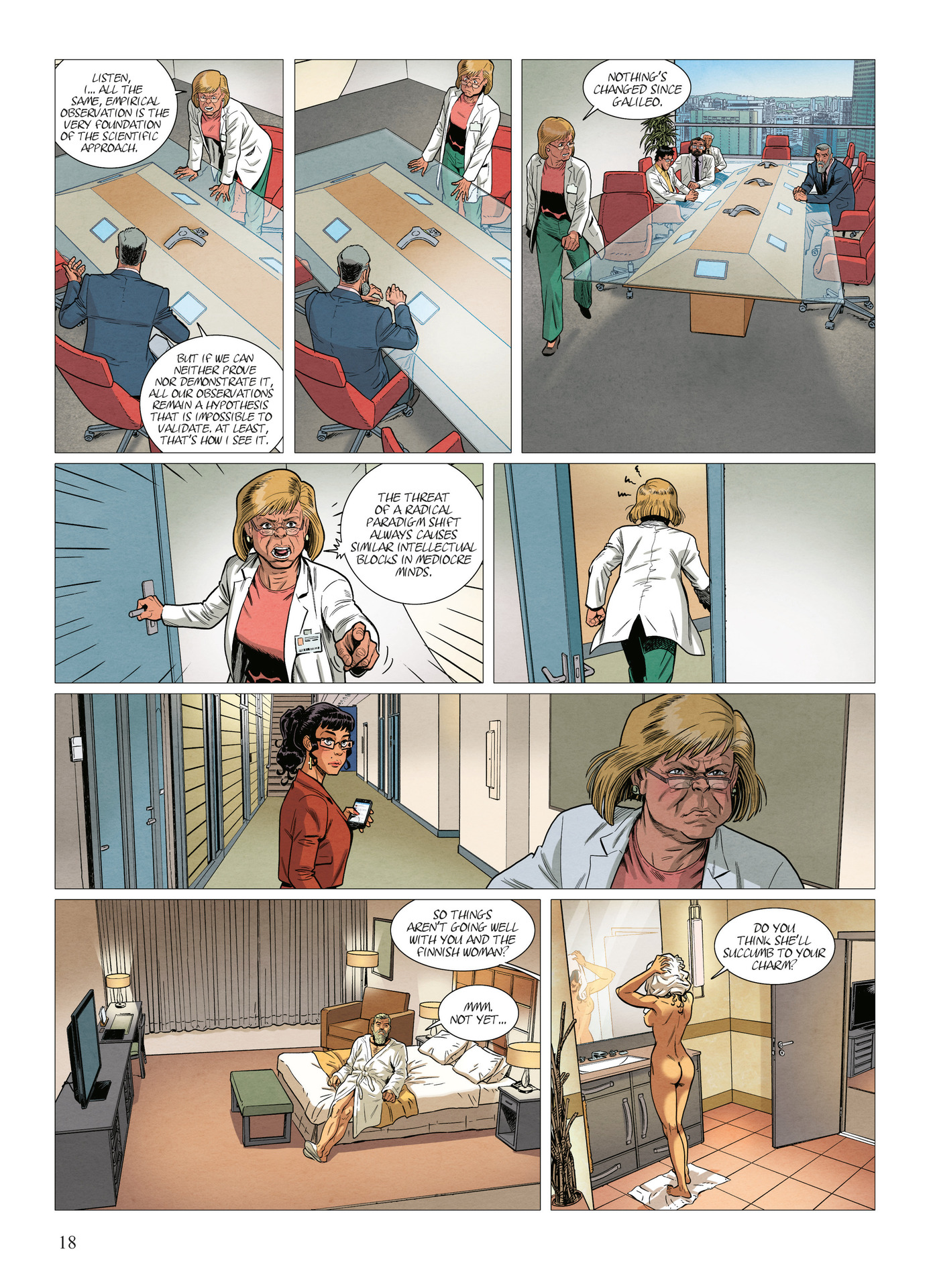 Read online Alter Ego comic -  Issue #10 - 19