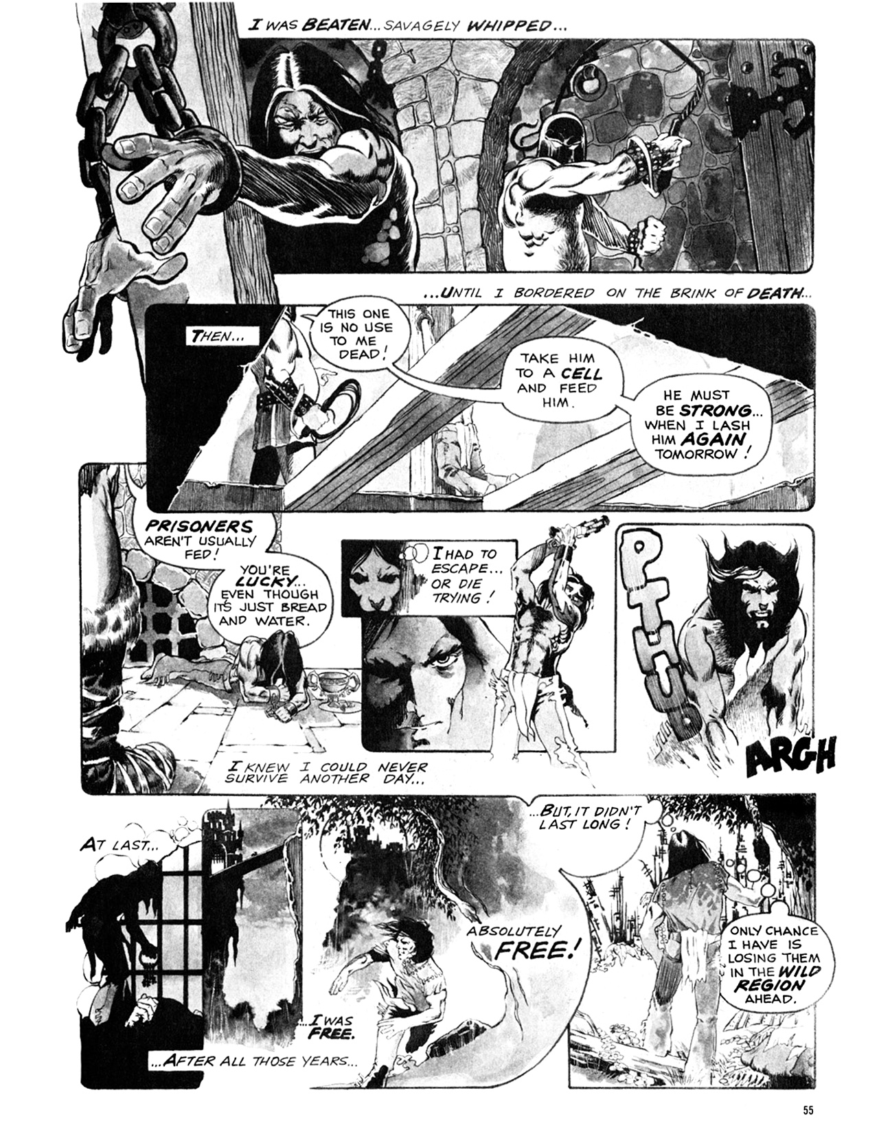 Read online Eerie Archives comic -  Issue # TPB 9 - 56