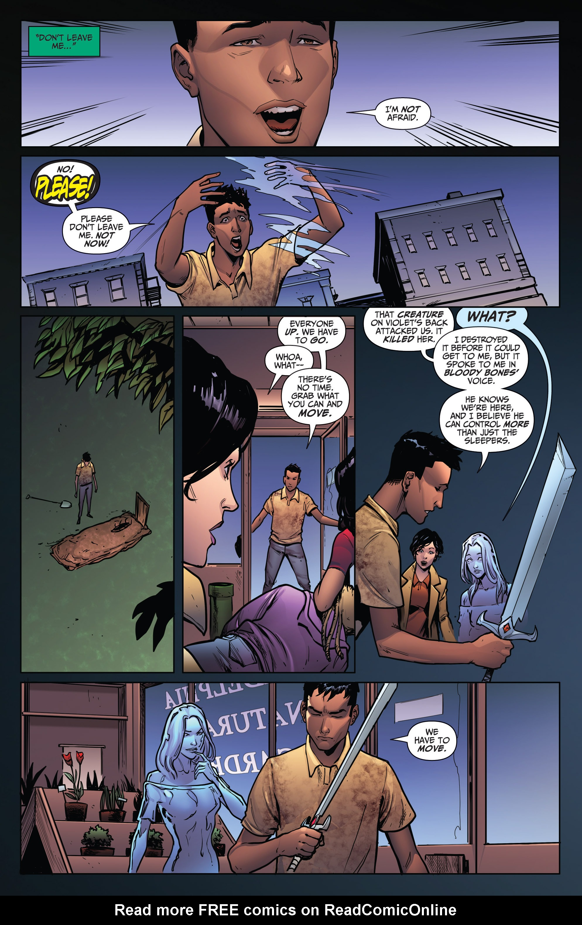 Read online Grimm Fairy Tales: Arcane Acre comic -  Issue # TPB 4 - 147