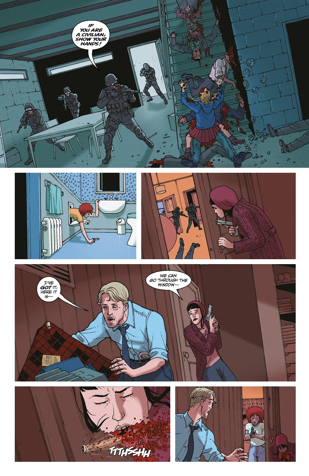 Read online She Could Fly comic -  Issue # _TPB - 130