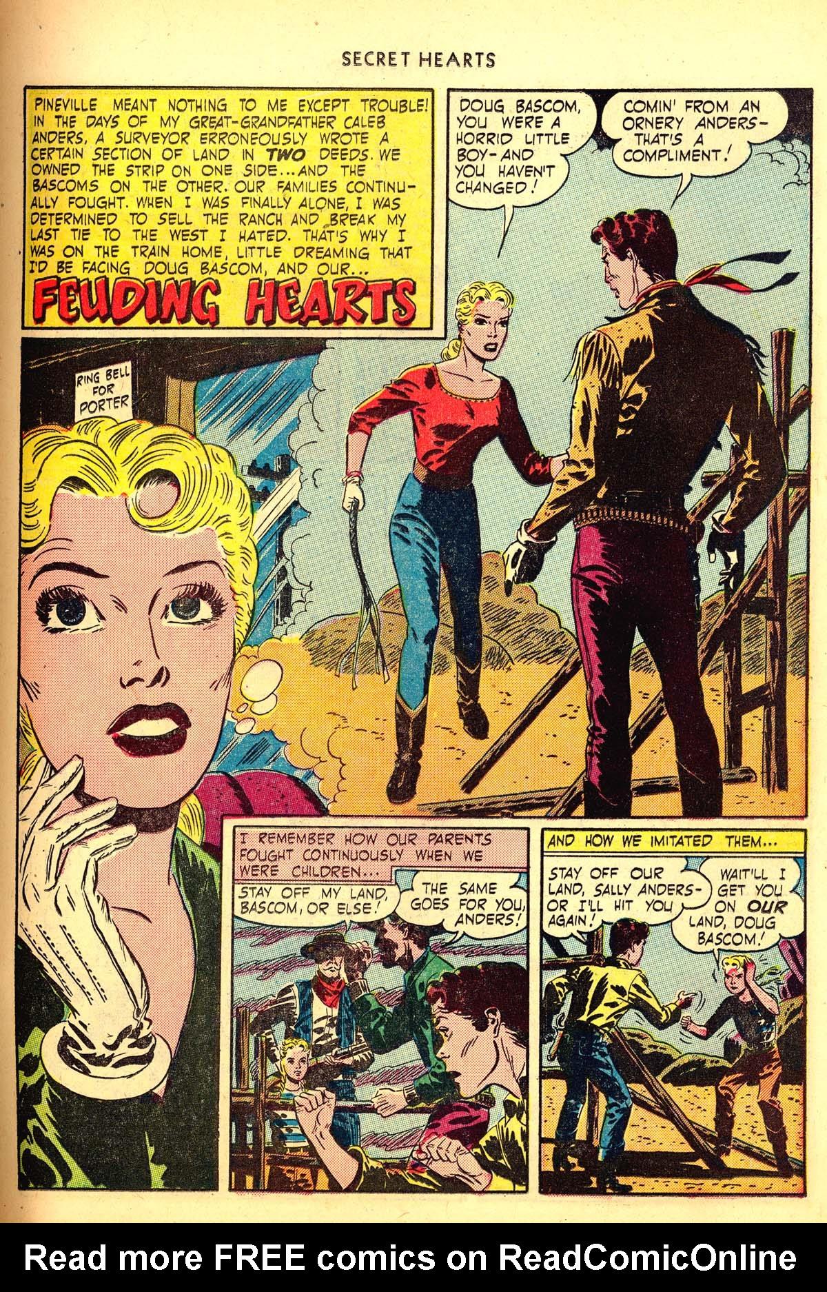 Read online Secret Hearts comic -  Issue #6 - 21