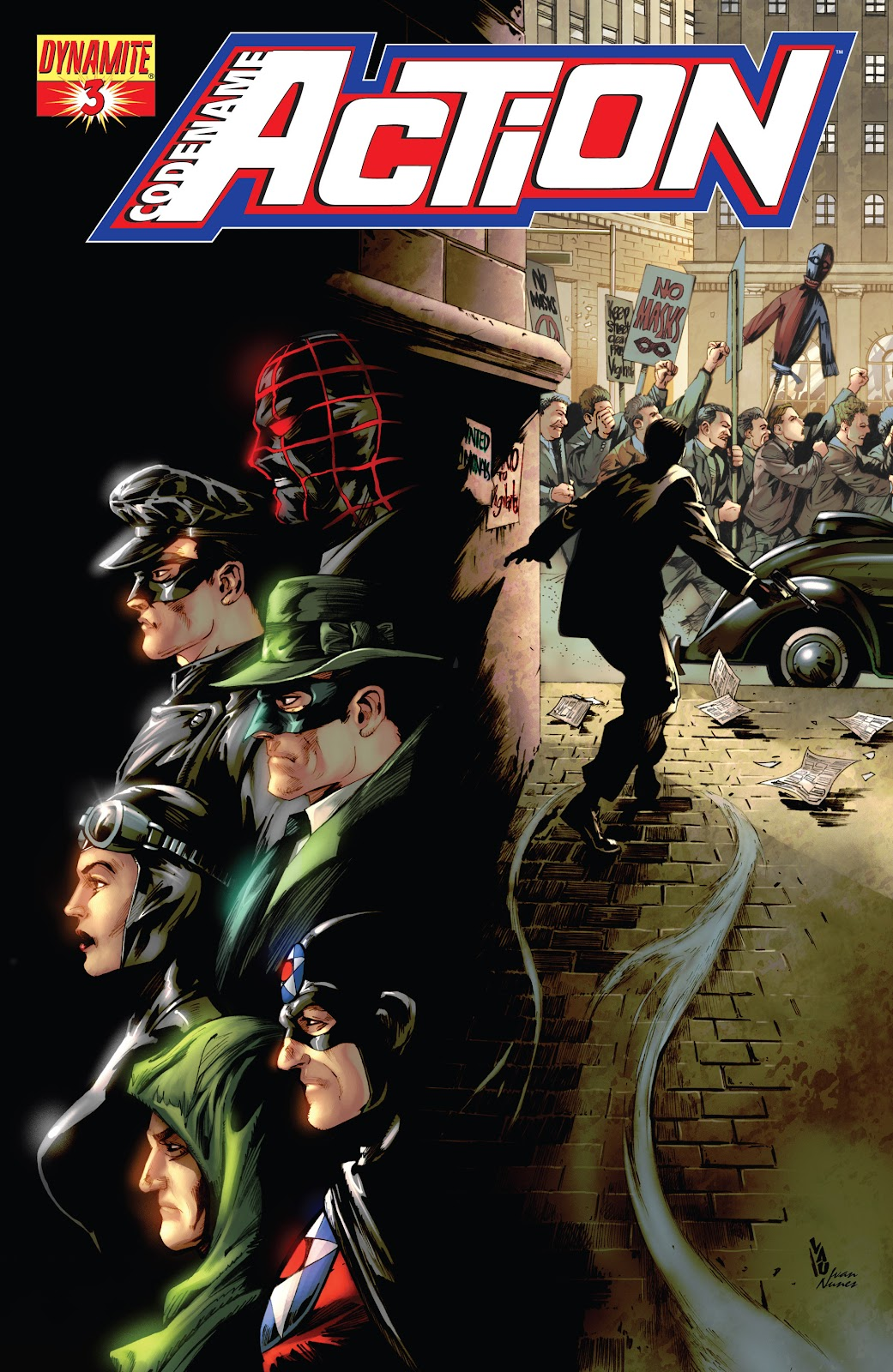 Read online Codename: Action comic -  Issue #3 - 2