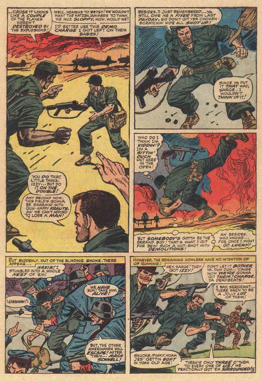 Read online Sgt. Fury comic -  Issue # _Special 2 - 10