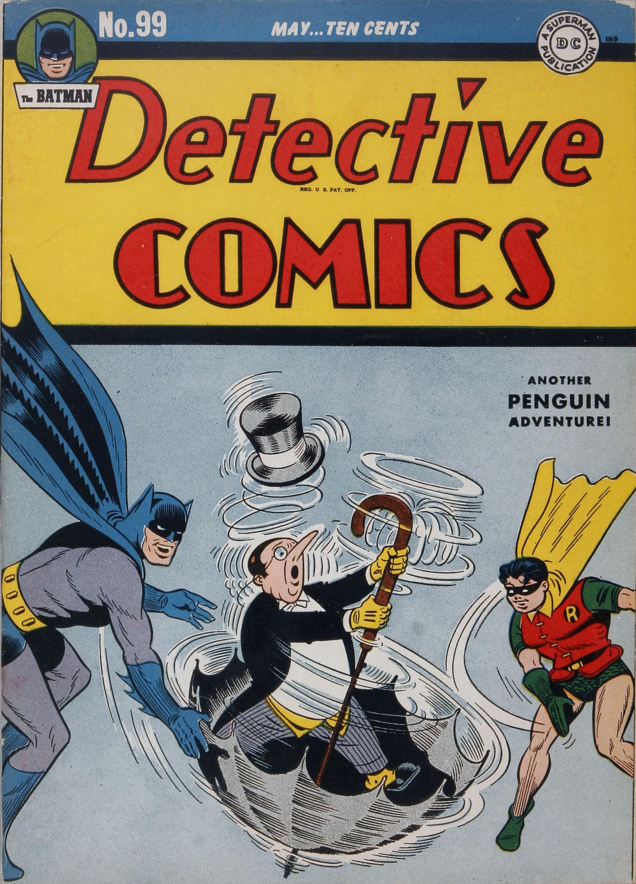 Read online Detective Comics (1937) comic -  Issue #99 - 1
