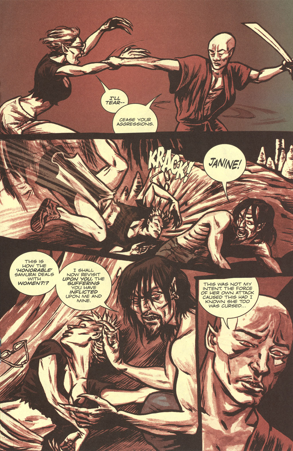 Read online Sea of Red comic -  Issue #4 - 19
