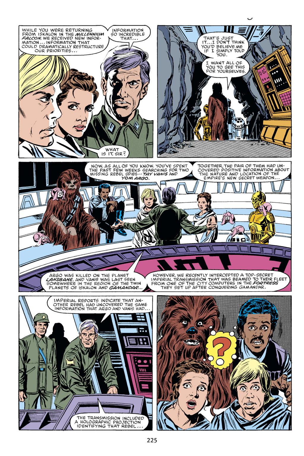 Read online Star Wars Omnibus comic -  Issue # Vol. 18 - 211