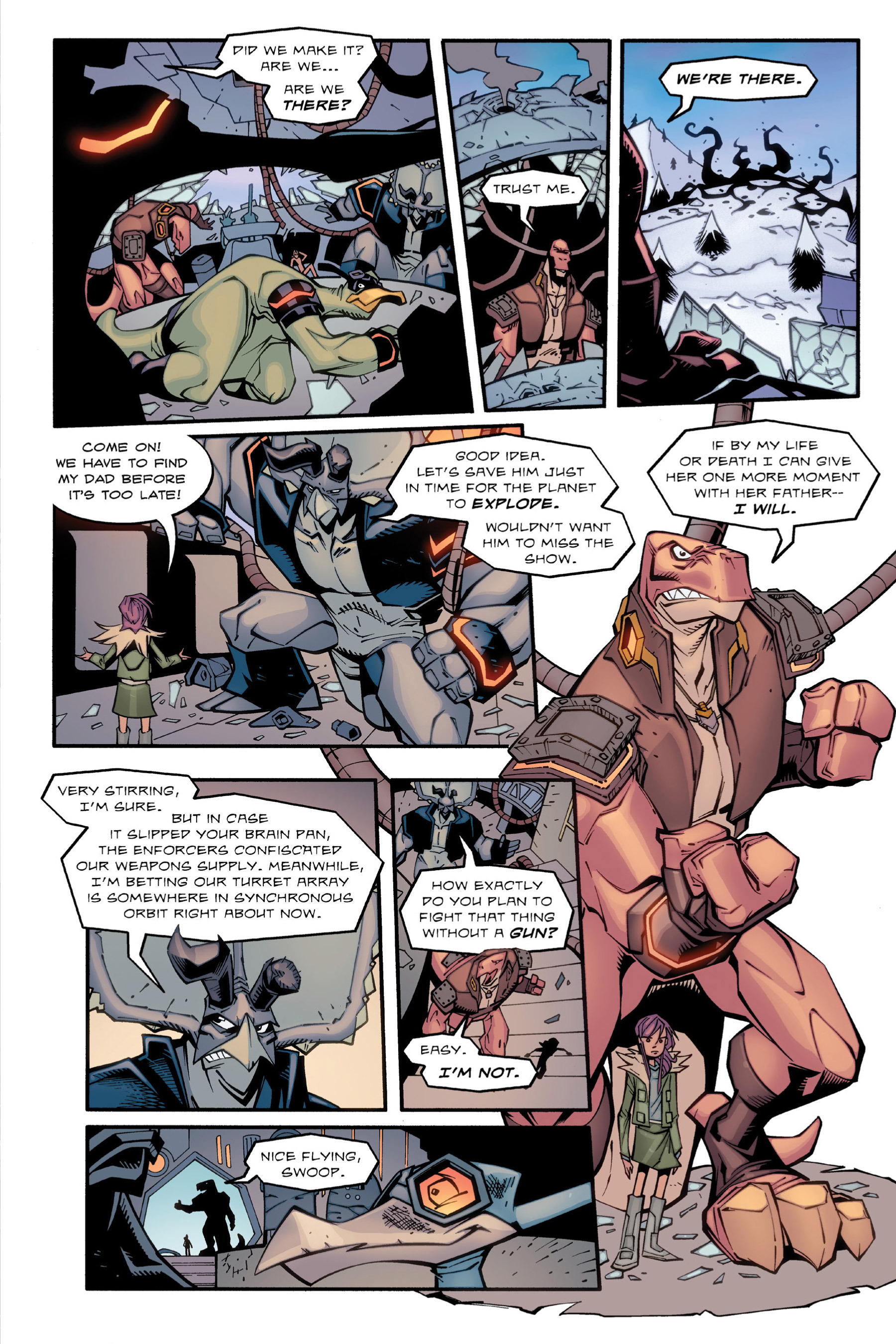 Read online Rexodus comic -  Issue # Full - 87