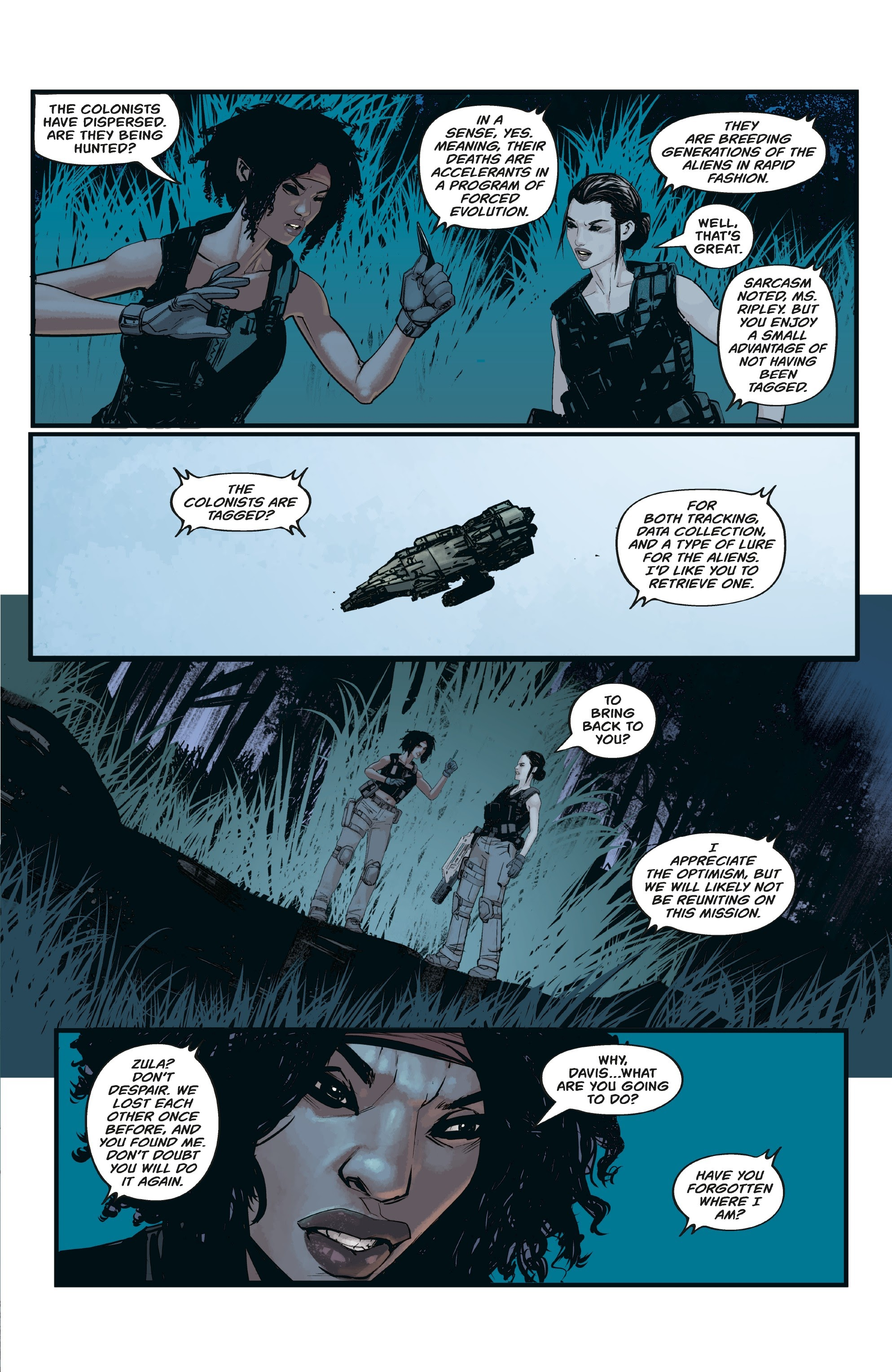 Aliens: Resistance issue 3 - Page 21