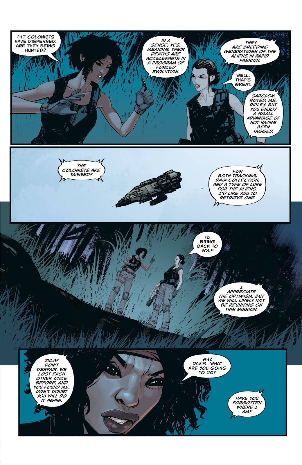 Read online Aliens: Resistance comic -  Issue #3 - 21