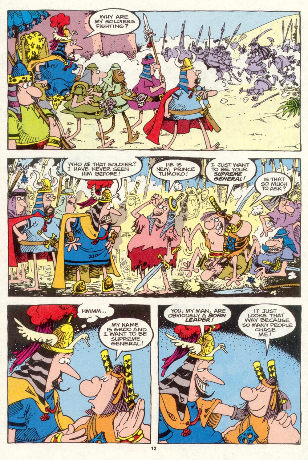 Read online Sergio Aragonés Groo the Wanderer comic -  Issue #87 - 13