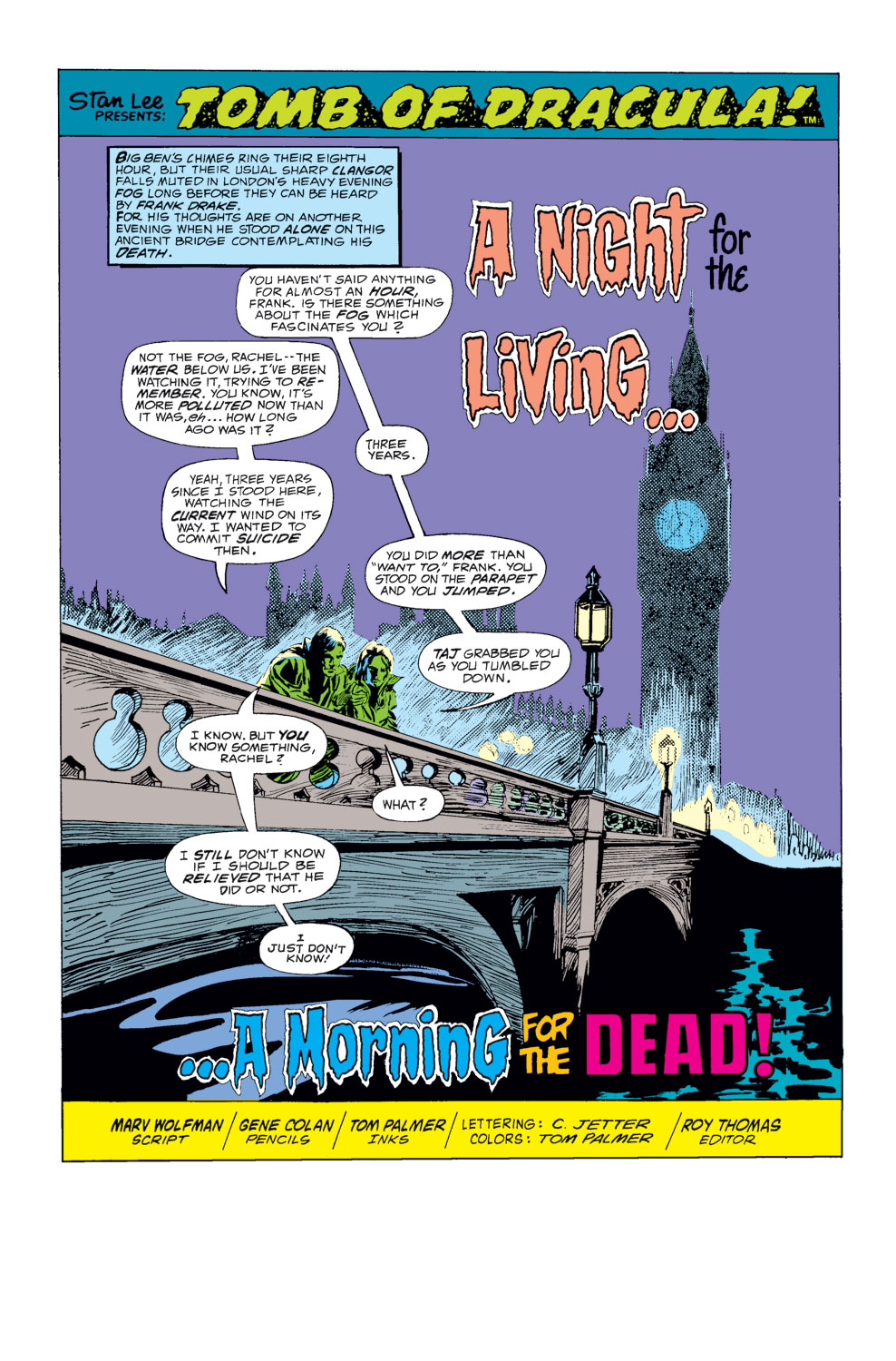 Tomb of Dracula (1972) issue 24 - Page 2