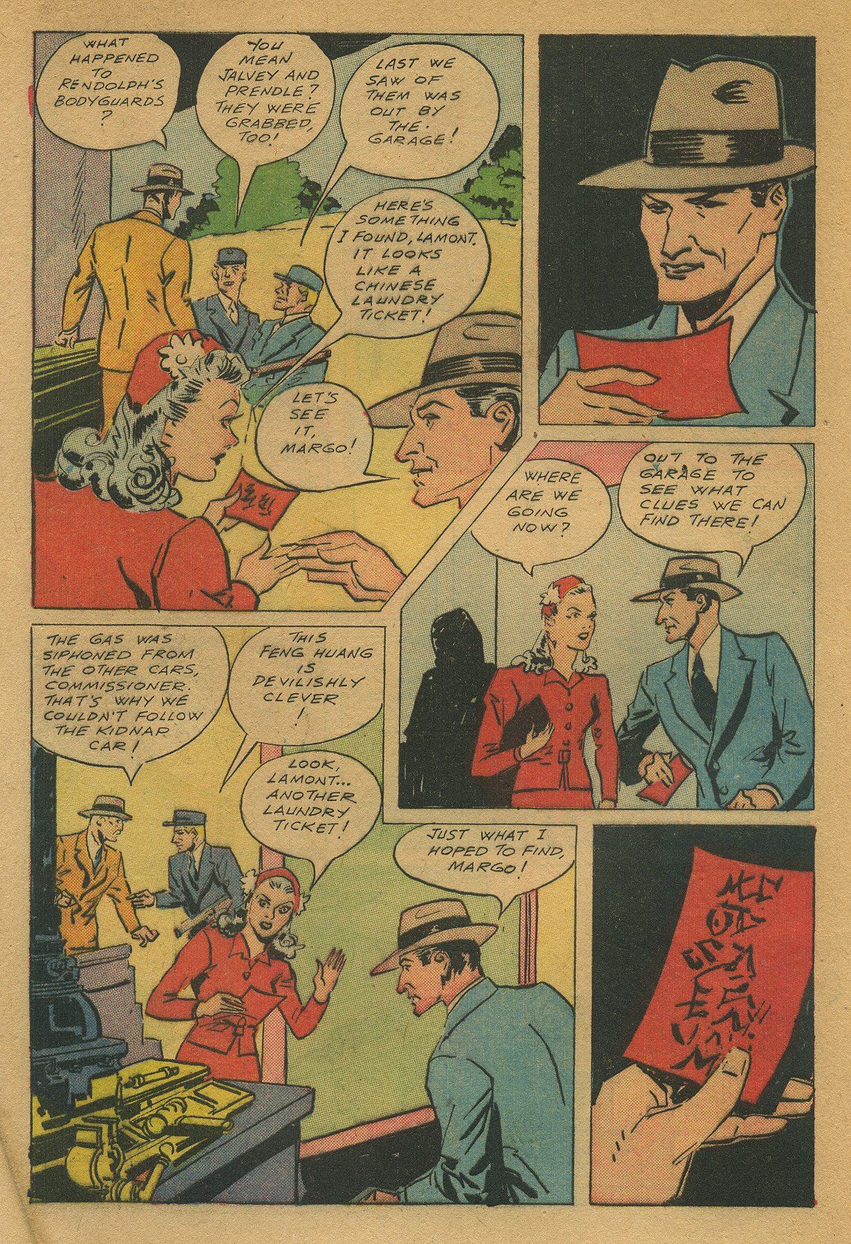 Read online Shadow Comics comic -  Issue #49 - 6