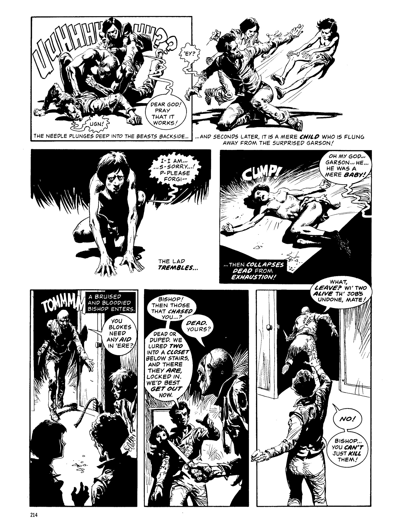 Read online Eerie Archives comic -  Issue # TPB 13 - 215