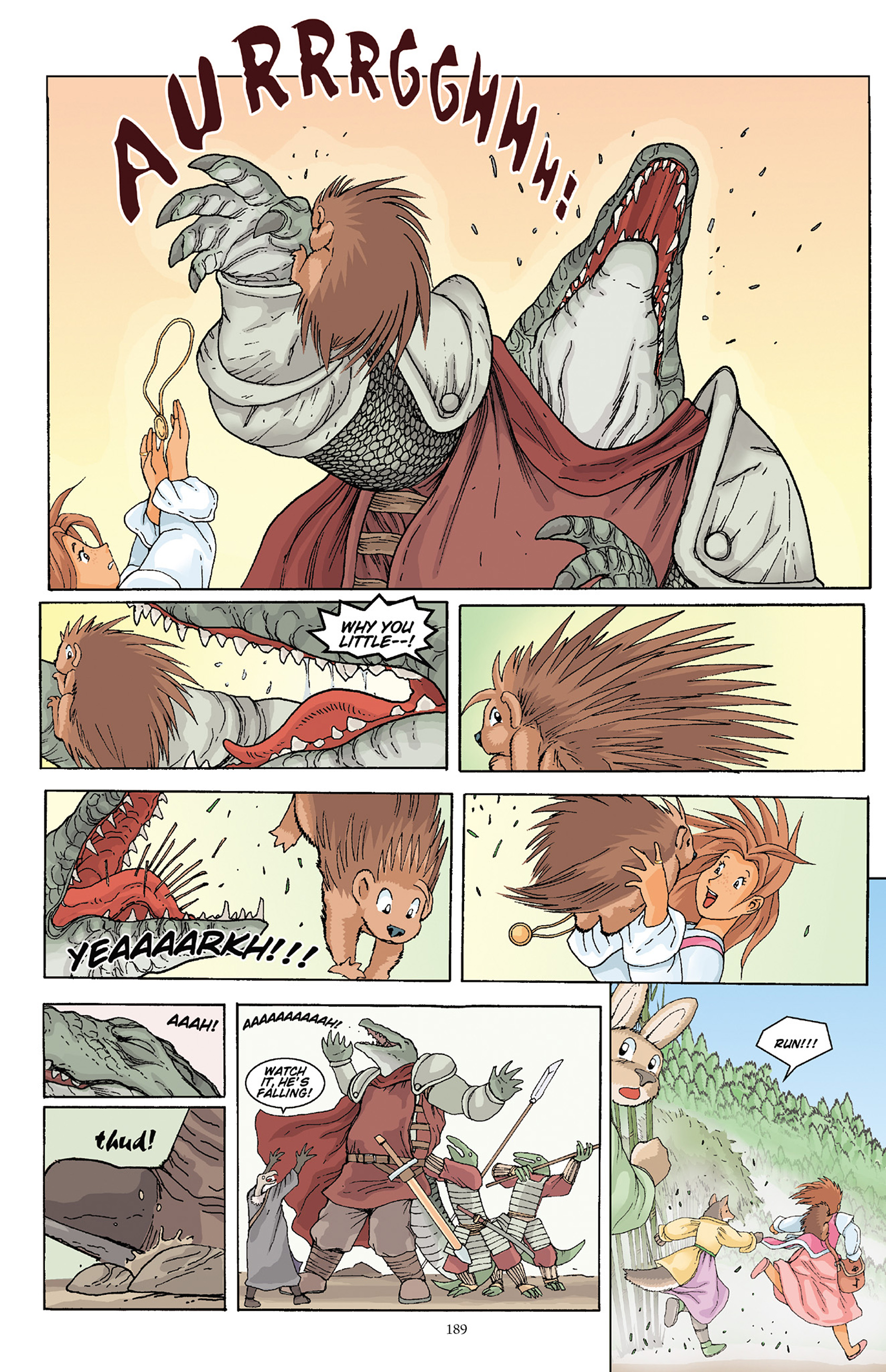 Read online Courageous Princess comic -  Issue # TPB 1 - 186