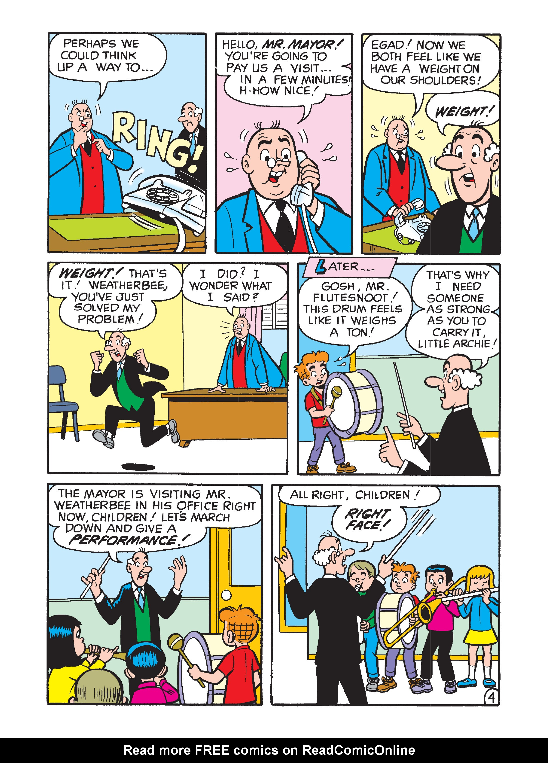 Read online Archie's Funhouse Double Digest comic -  Issue #1 - 129