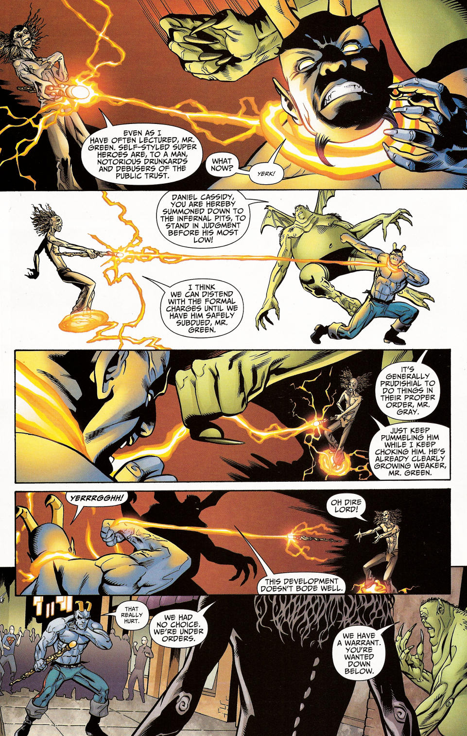 Read online Shadowpact comic -  Issue #4 - 27