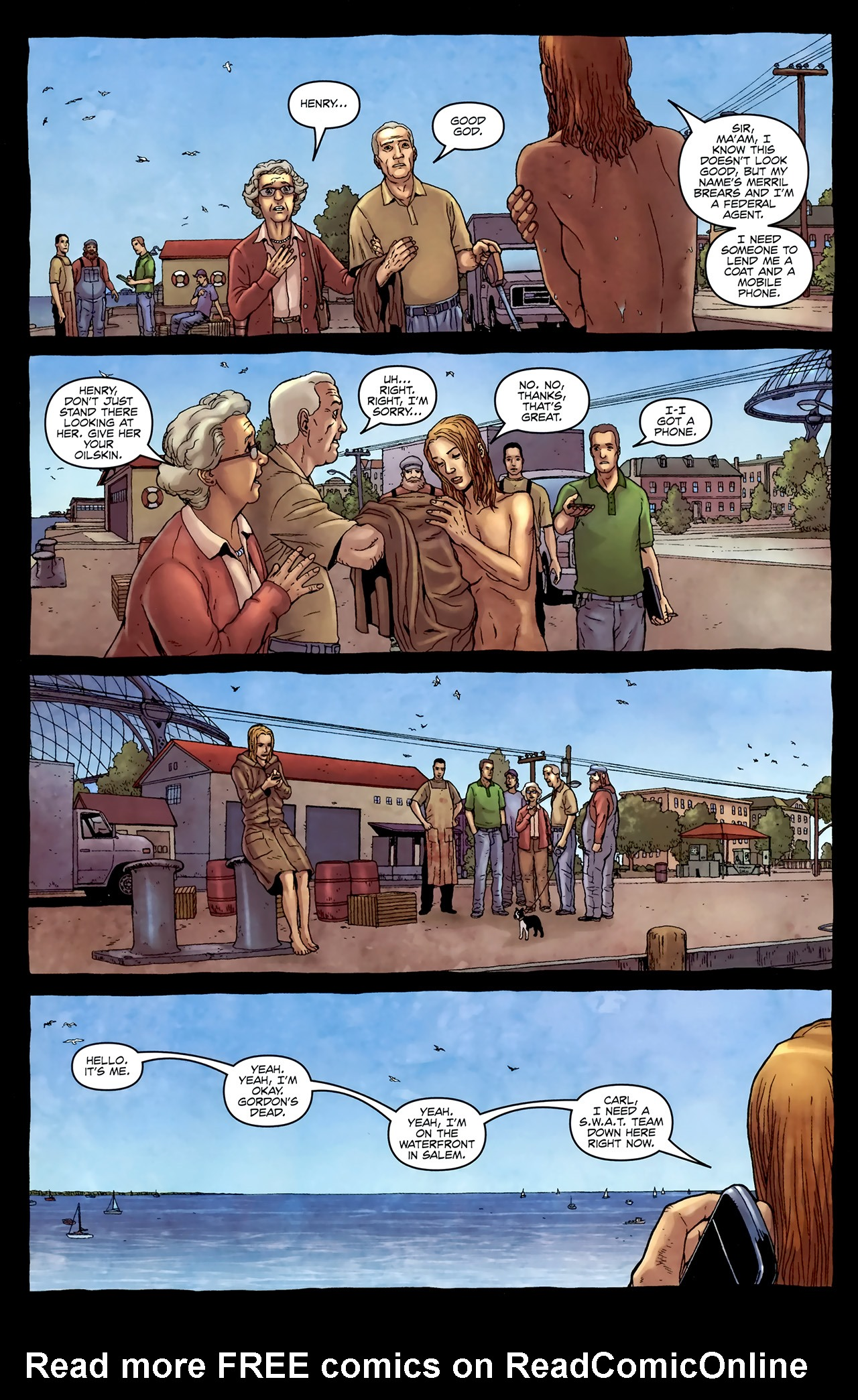Read online Alan Moore's Neonomicon comic -  Issue #4 - 7