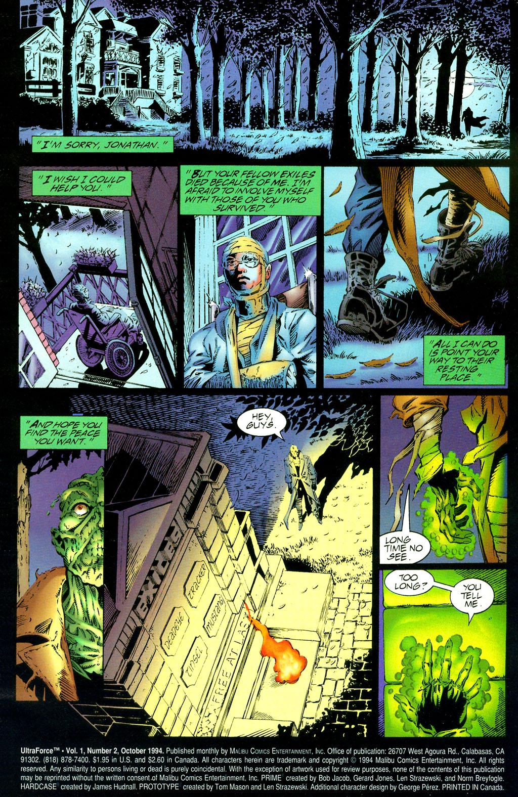 Read online UltraForce (1994) comic -  Issue #2 - 2