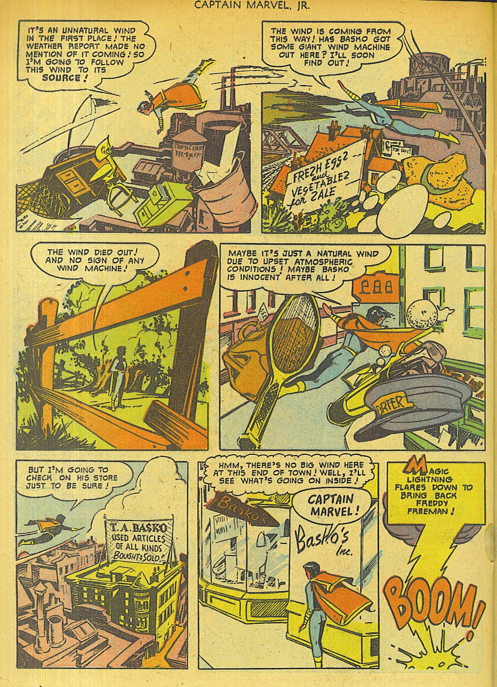 Captain Marvel, Jr. issue 96 - Page 30