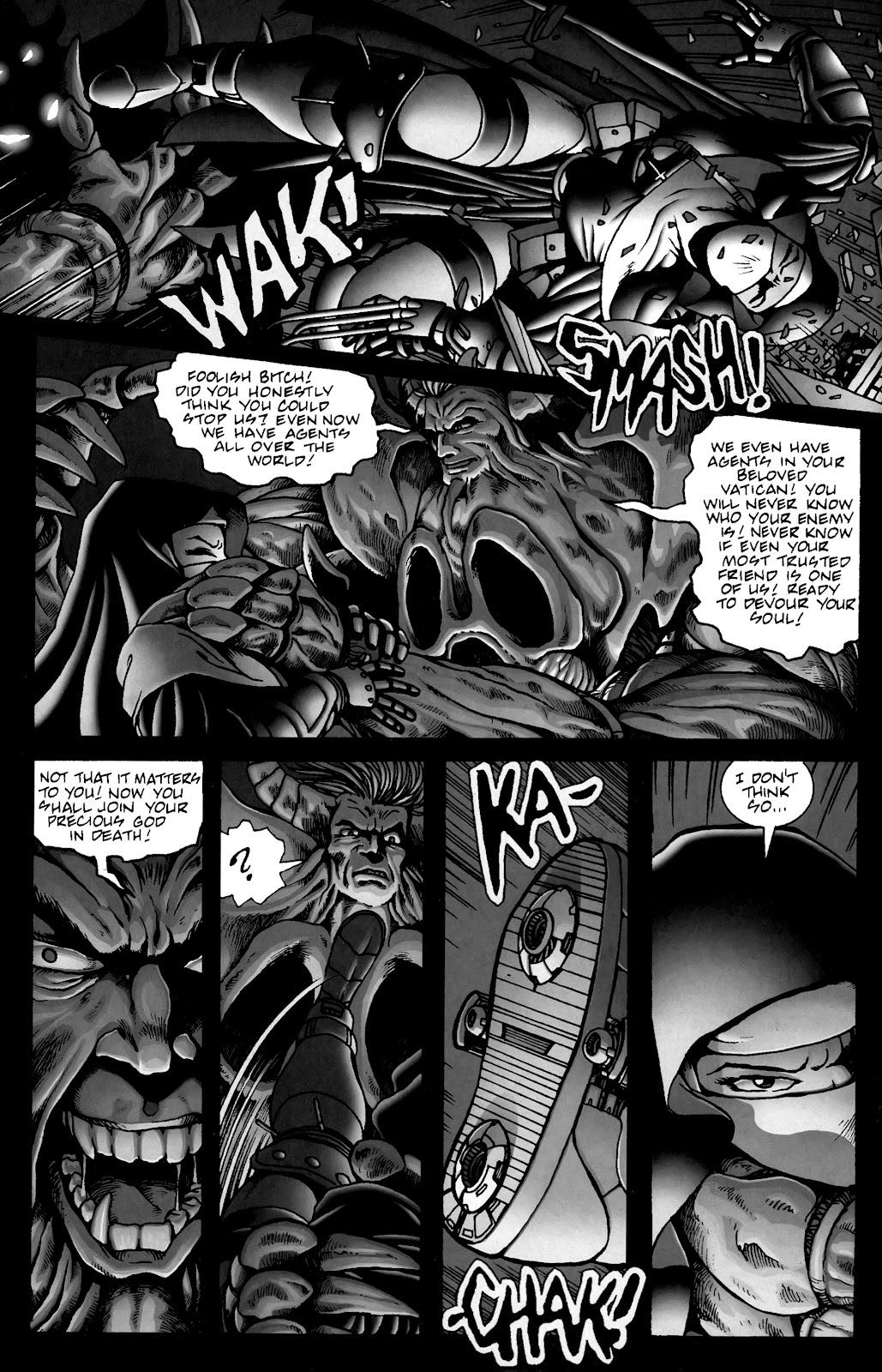 Warrior Nun Areala:  Dangerous Game Issue #3 #3 - English 31