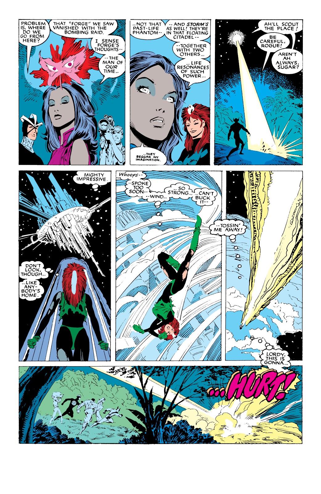 Read online X-Men Milestones: Fall of the Mutants comic -  Issue # TPB (Part 1) - 77