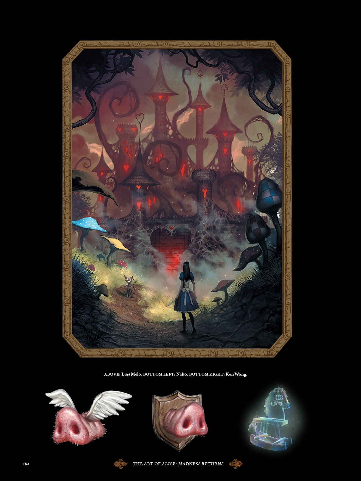 Read online The Art of Alice: Madness Returns comic -  Issue # TPB (Part 2) - 73