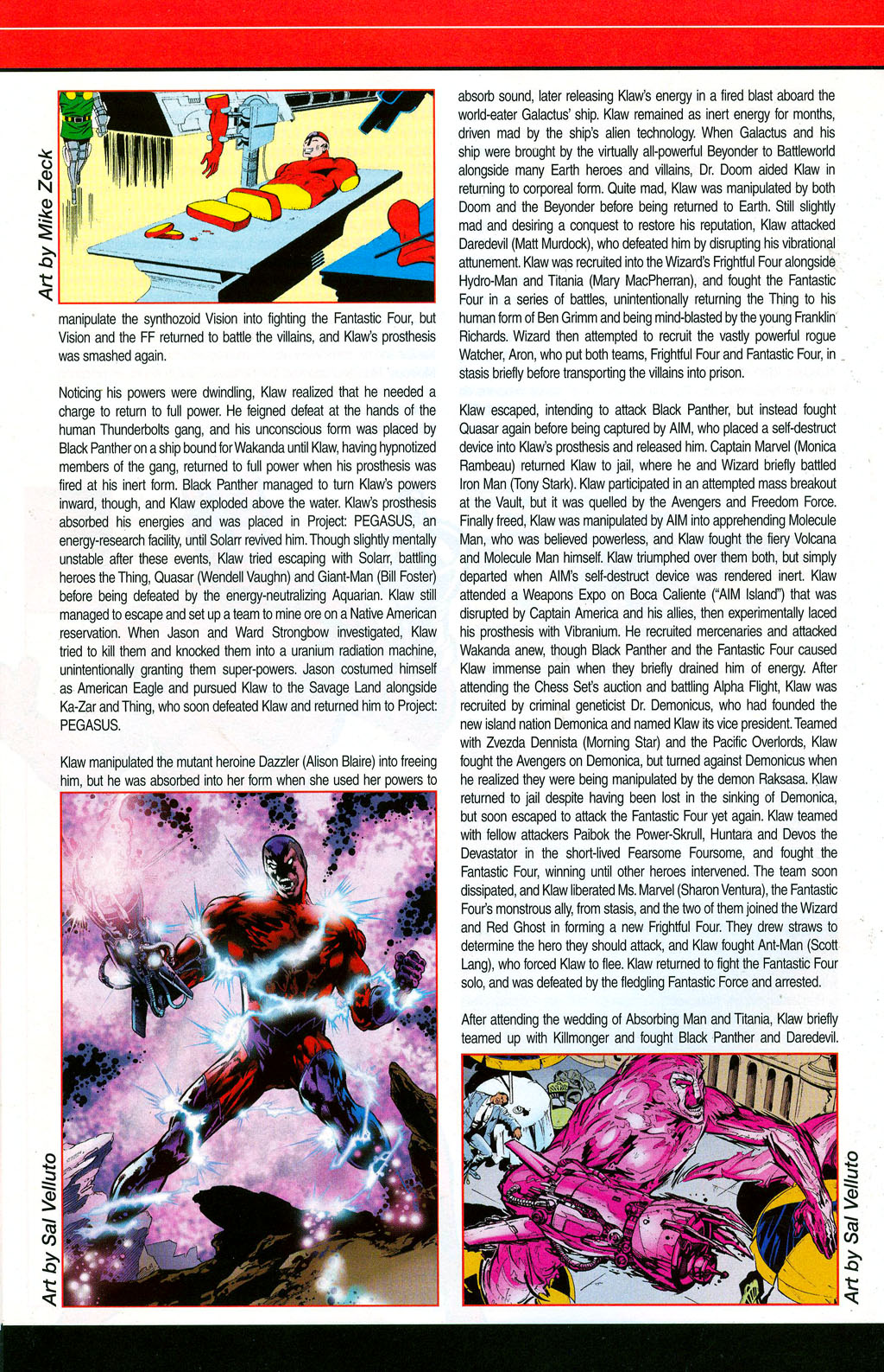 Read online All-New Official Handbook of the Marvel Universe A to Z: Update comic -  Issue #3 - 34