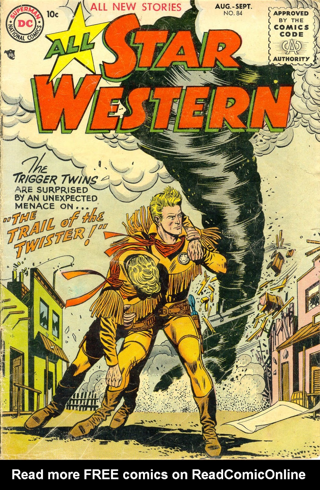 All-Star Western (1951) issue 84 - Page 1