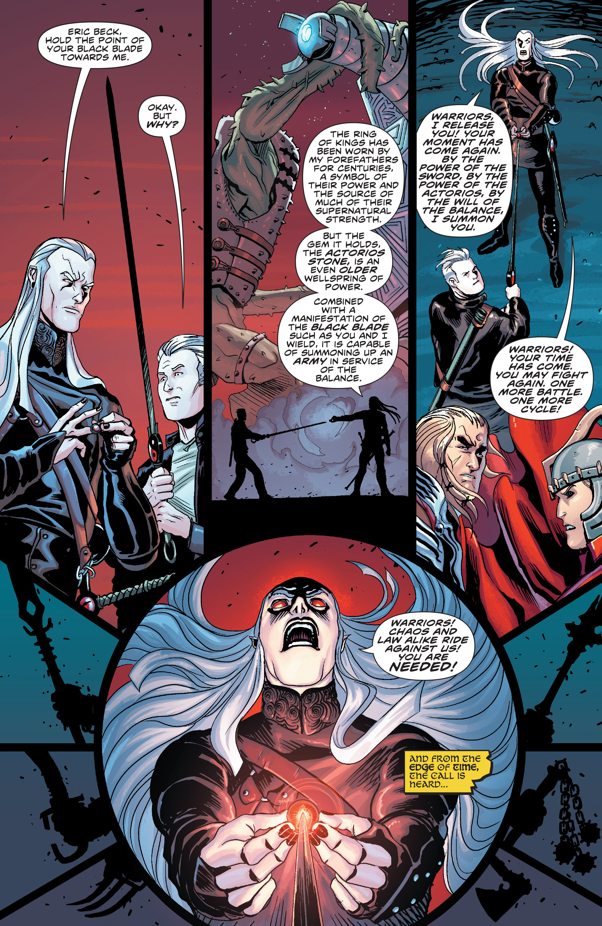 Read online Elric: The Balance Lost comic -  Issue # TPB 3 - 49