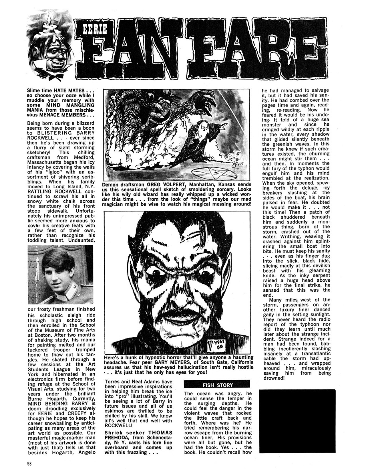 Read online Eerie Archives comic -  Issue # TPB 4 - 99