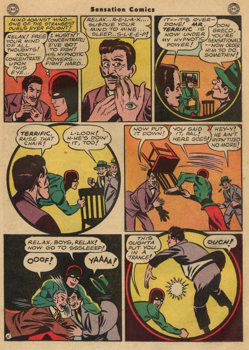 Read online Sensation (Mystery) Comics comic -  Issue #49 - 27