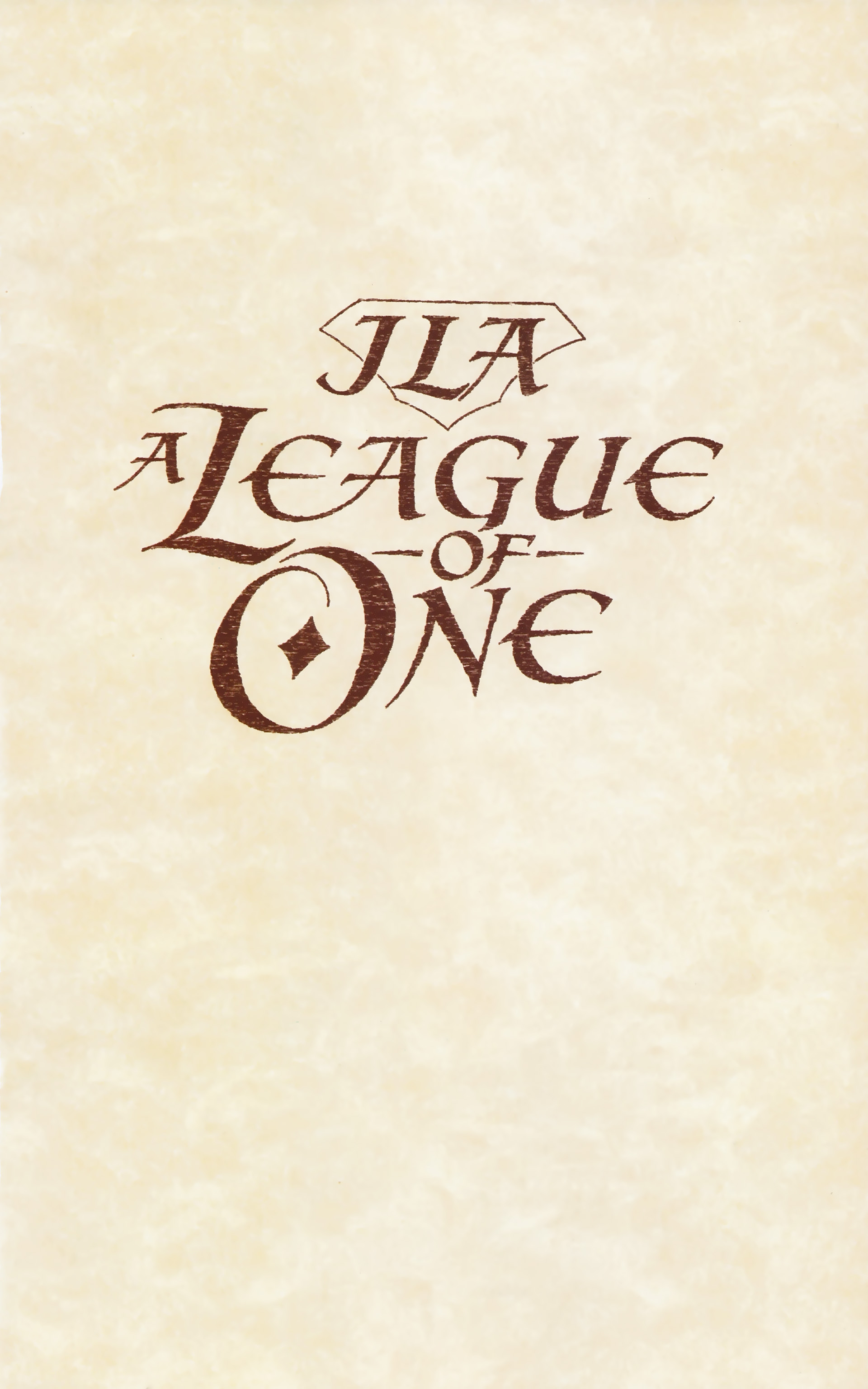 Read online JLA: A League of One comic -  Issue # Full - 5