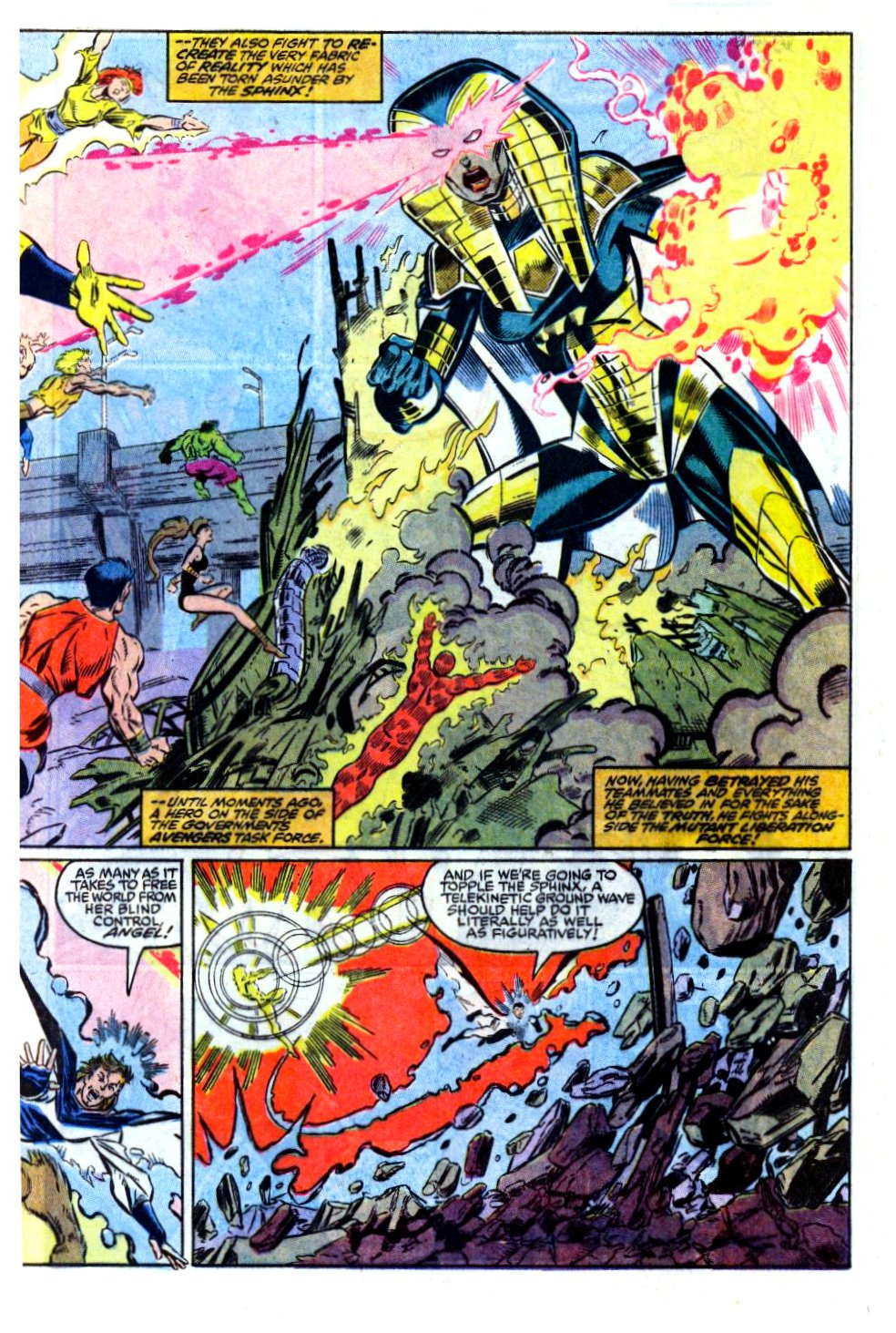 The New Warriors Issue #13 #17 - English 4