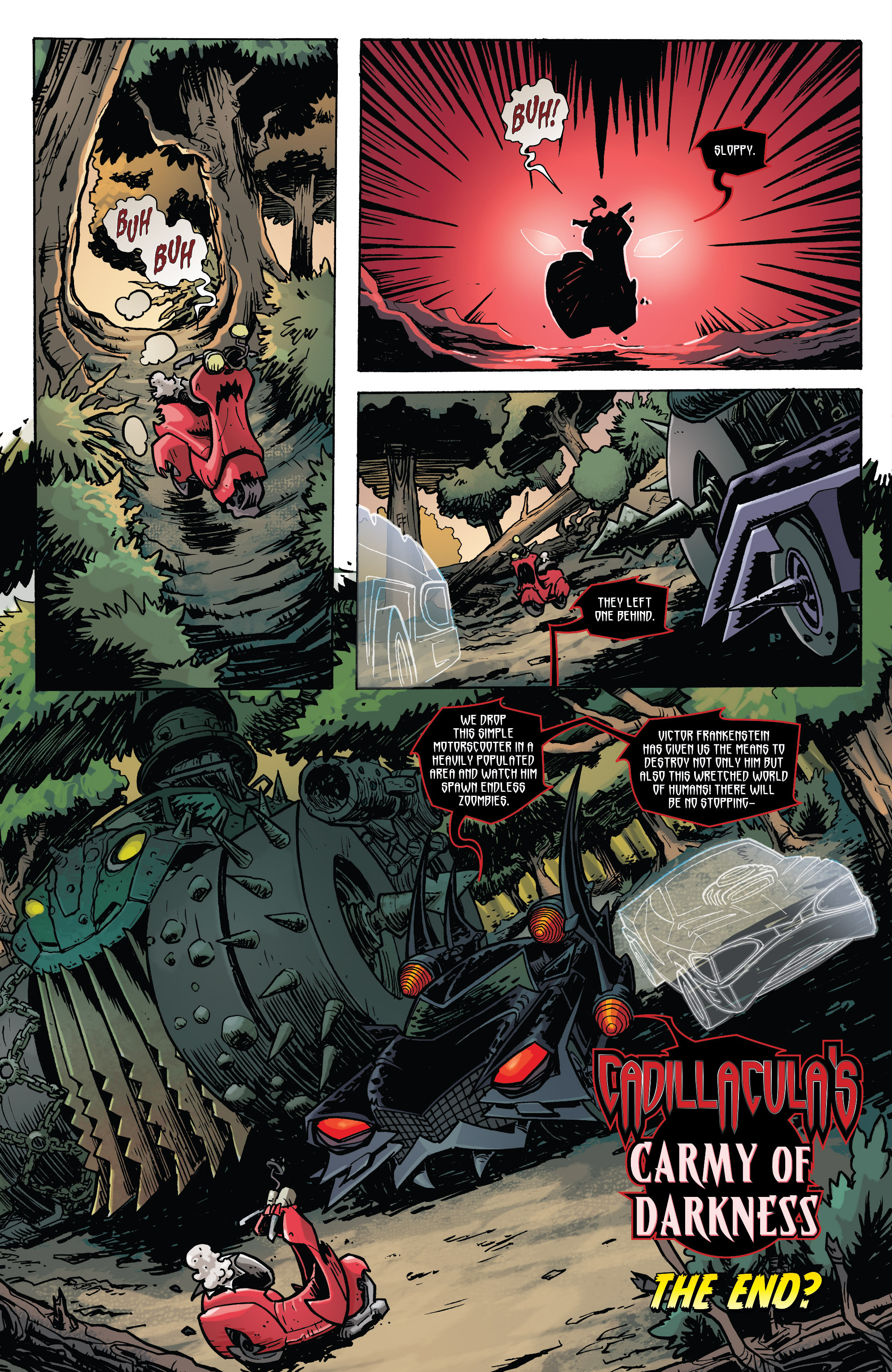 Read online Monster Motors: The Curse of Minivan Helsing comic -  Issue #2 - 23