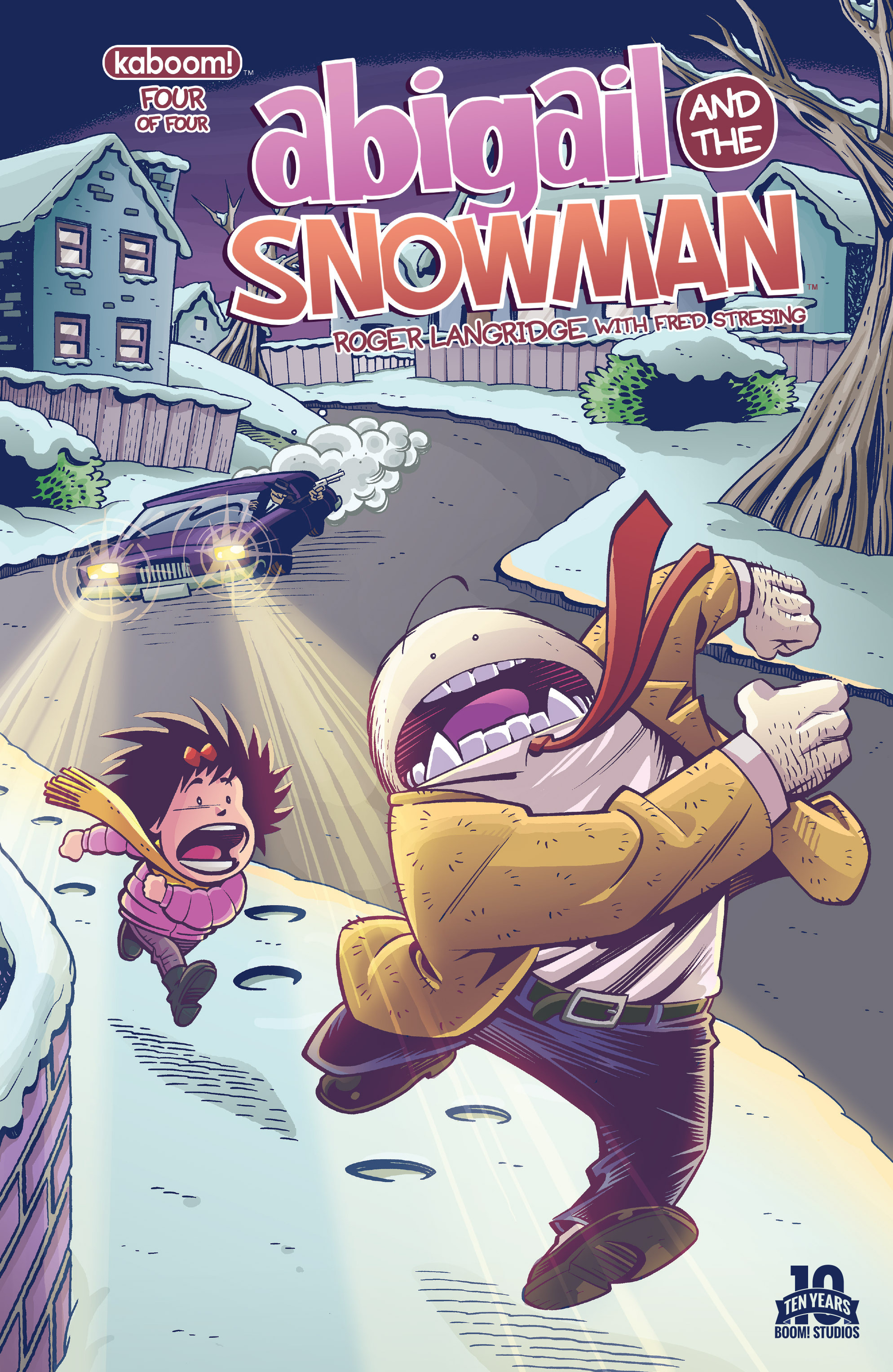 Read online Abigail And The Snowman comic -  Issue #4 - 1