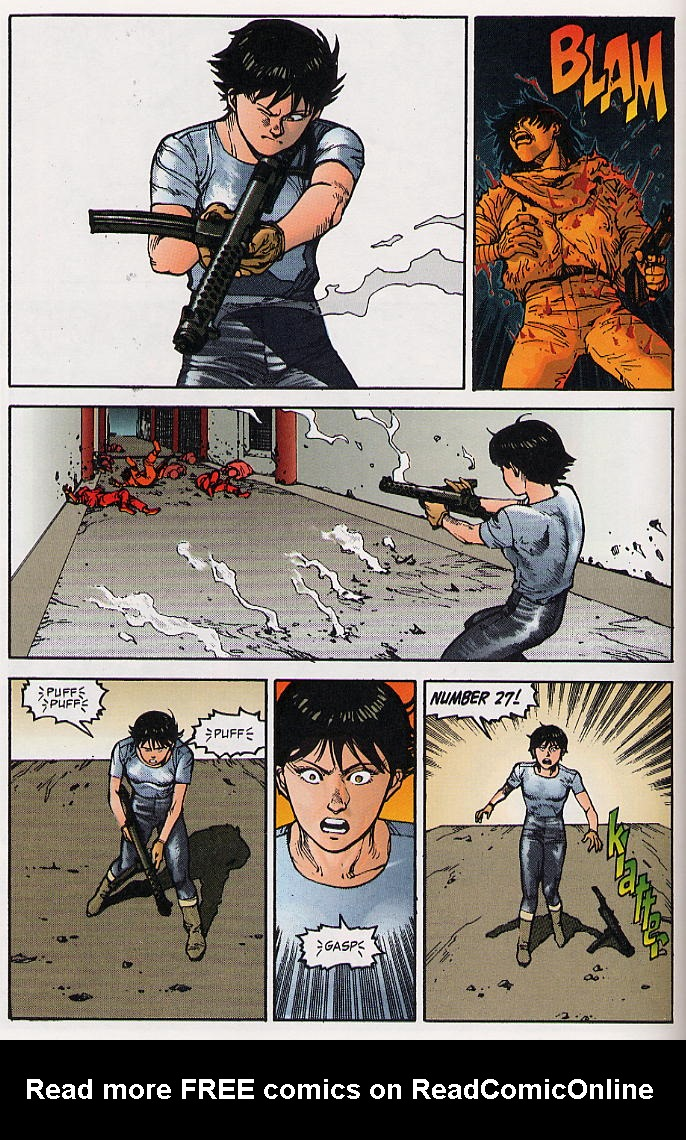 Read online Akira comic -  Issue #22 - 24
