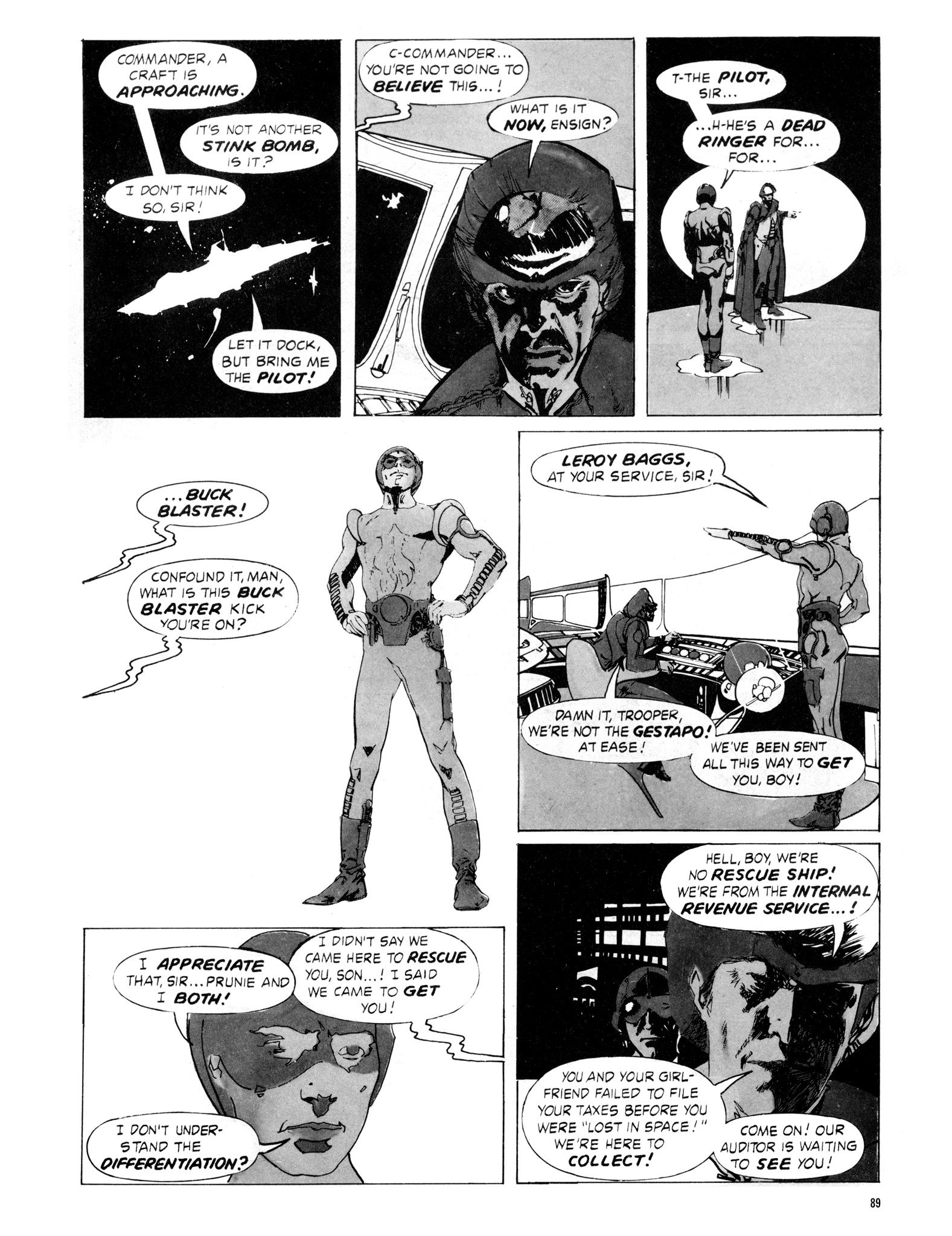 Read online Eerie Archives comic -  Issue # TPB 16 - 90