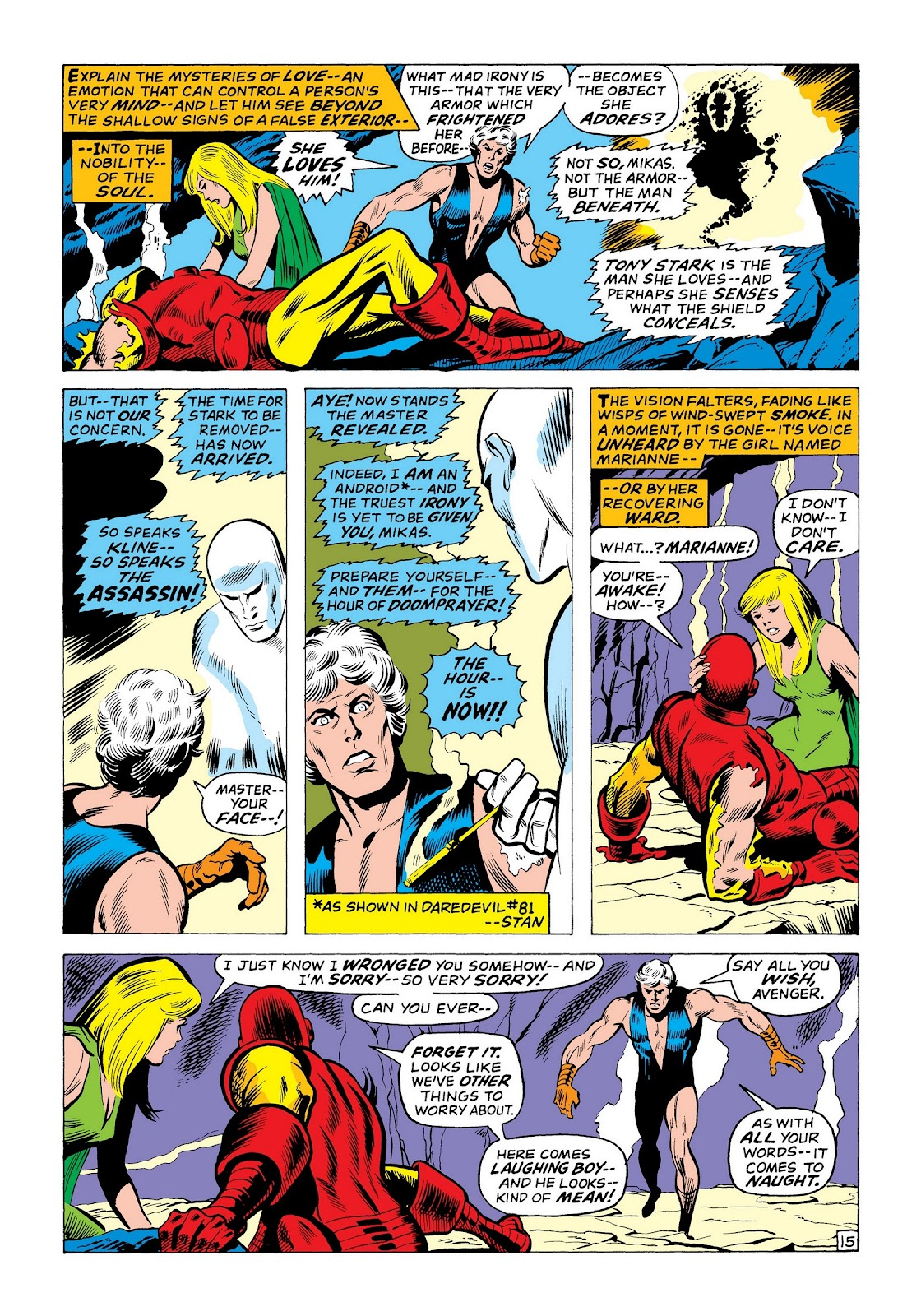 Read online Marvel Masterworks: The Invincible Iron Man comic -  Issue # TPB 8 (Part 2) - 2