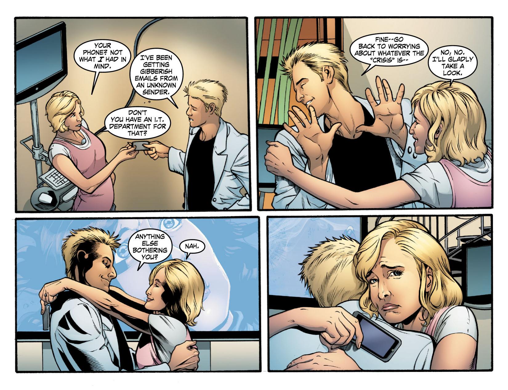 Read online Smallville: Season 11 comic -  Issue #16 - 4