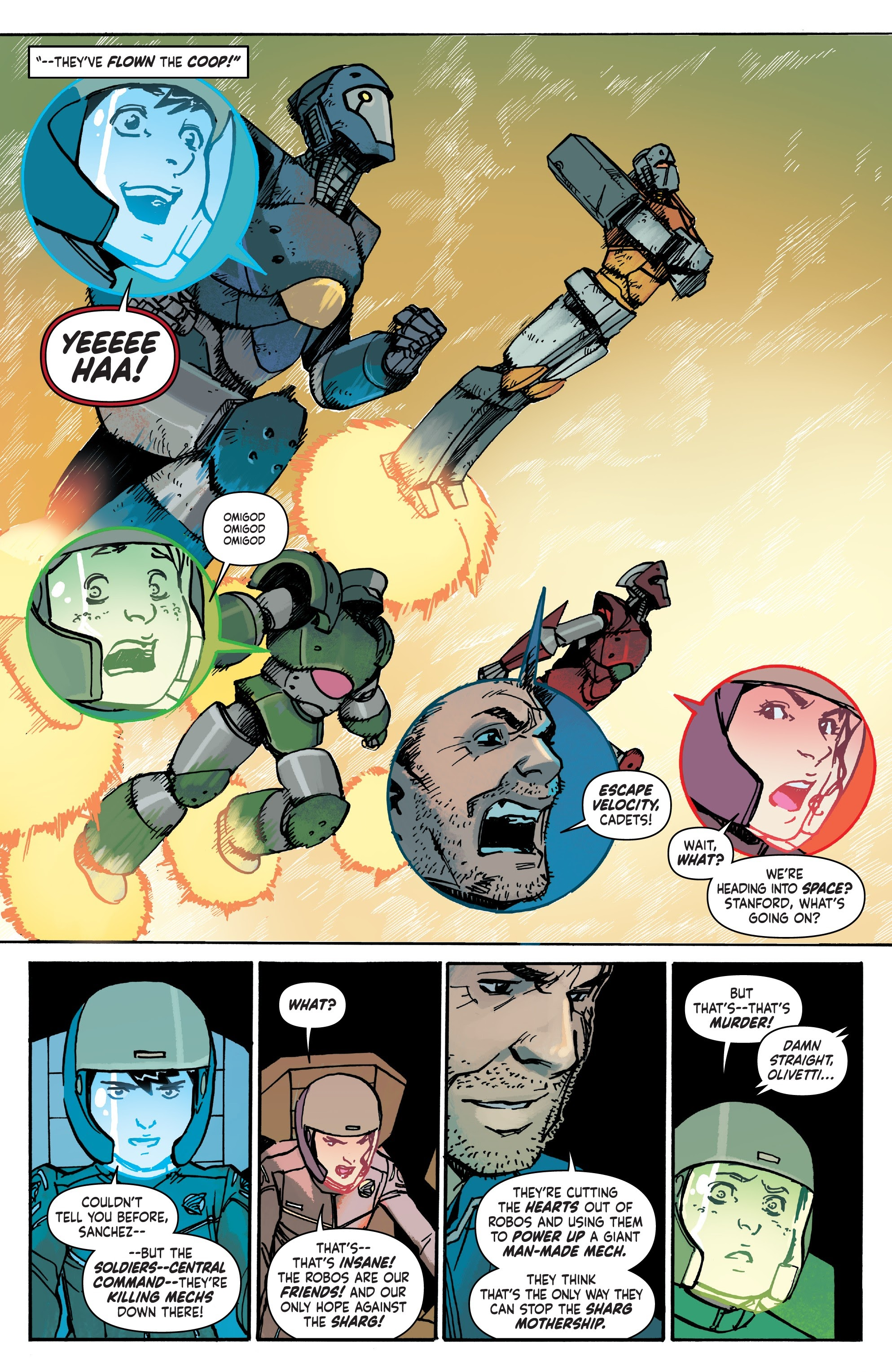 Mech Cadet Yu #_TPB_2 #15 - English 80